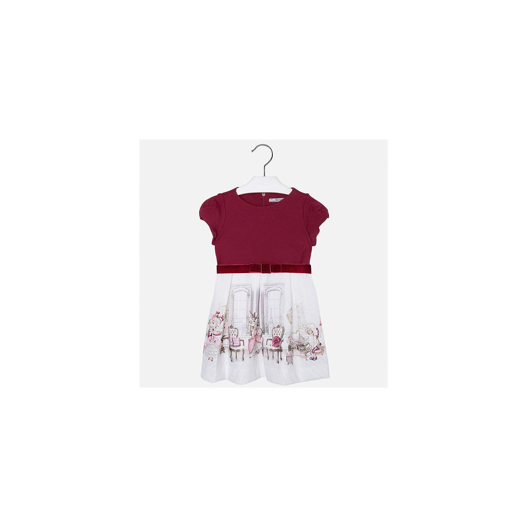 Mayoral Платье для девочки Mayoral купить в интернет магазине платье плиссе