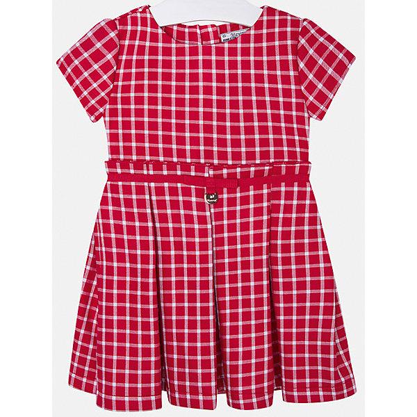 Платье для девочки MayoralОсенне-зимние платья и сарафаны<br>Платье для девочки от известной испанской марки Mayoral<br><br>Ширина мм: 236<br>Глубина мм: 16<br>Высота мм: 184<br>Вес г: 177<br>Цвет: красный<br>Возраст от месяцев: 24<br>Возраст до месяцев: 36<br>Пол: Женский<br>Возраст: Детский<br>Размер: 98,128,122,116,92,104,134,110<br>SKU: 4844423