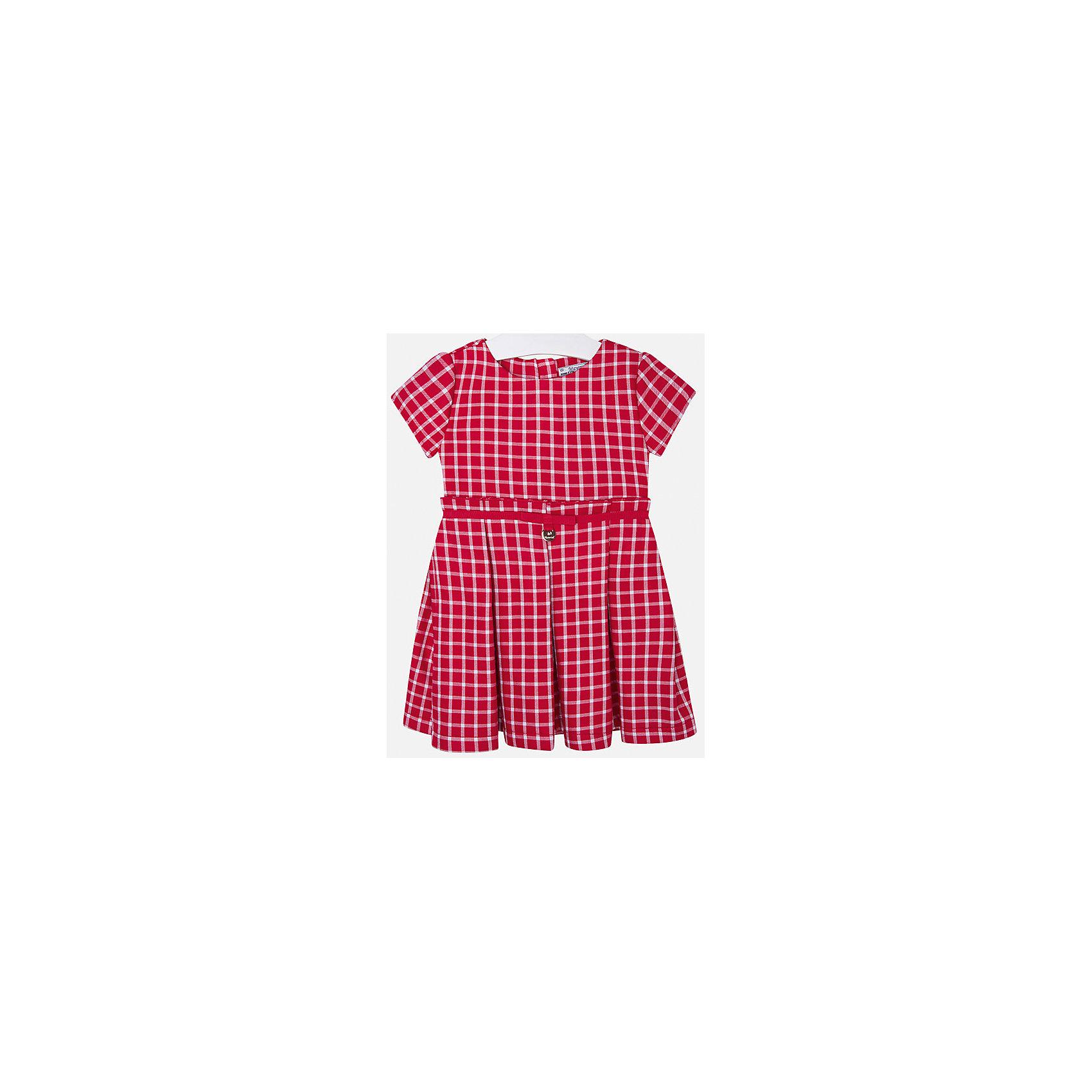 Платье для девочки MayoralПлатья и сарафаны<br>Платье для девочки от известной испанской марки Mayoral<br><br>Ширина мм: 236<br>Глубина мм: 16<br>Высота мм: 184<br>Вес г: 177<br>Цвет: красный<br>Возраст от месяцев: 24<br>Возраст до месяцев: 36<br>Пол: Женский<br>Возраст: Детский<br>Размер: 98,110,134,104,92,116,122,128<br>SKU: 4844423