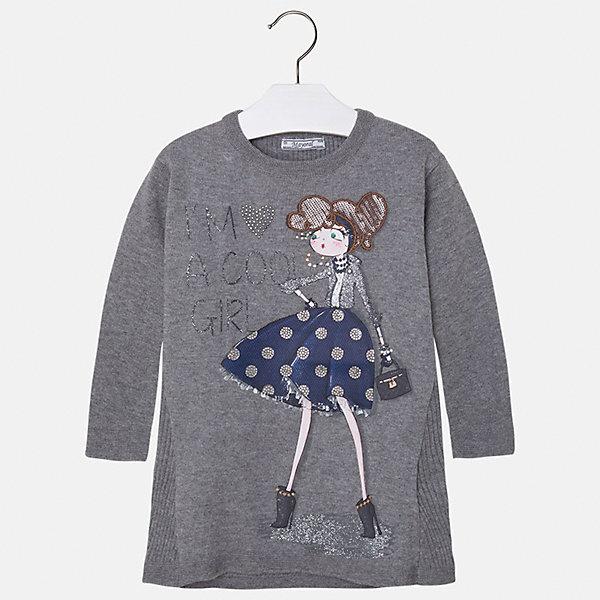 Платье для девочки MayoralОсенне-зимние платья и сарафаны<br>Платье для девочки от испанского бренда Mayoral(Майорал). Модель с длинным рукавом и крупной аппликацией спереди. Изготовлено из качественных материалов, приятных телу. Хорошо подойдет на каждый день!<br>Дополнительная информация:<br>-длинные рукава<br>-крупная аппликация со стразами<br>-цвет: серый<br>-состав: 50% хлопок, 50% акрил<br>Платье Mayoral(Майорал) можно купить в нашем интернет-магазине.<br><br>Ширина мм: 236<br>Глубина мм: 16<br>Высота мм: 184<br>Вес г: 177<br>Цвет: серый<br>Возраст от месяцев: 24<br>Возраст до месяцев: 36<br>Пол: Женский<br>Возраст: Детский<br>Размер: 110,116,122,92,134,128,98,104<br>SKU: 4844493