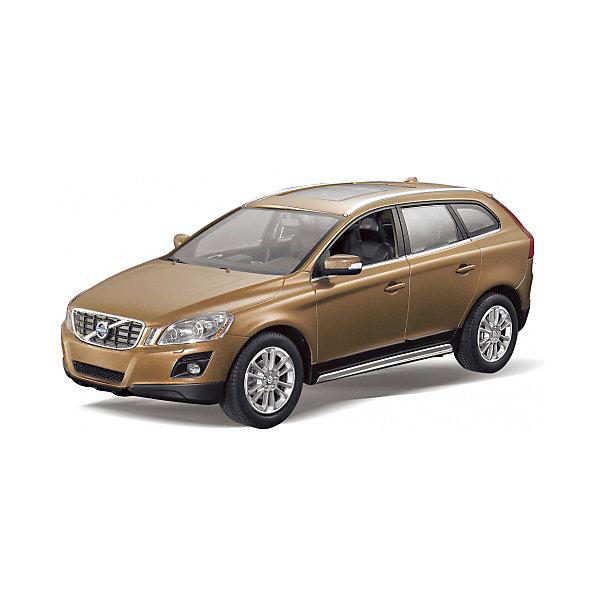 RASTAR Радиоуправляемая машина Volvo XC60 1:14, коричневыйРадиоуправляемые машины<br>RASTAR Радиоуправляемая машина Volvo XC60 1:14 - игрушка, которая наверняка приведет в восторг юного любителя  взрослых автомобилей: эта радиоуправляемая машина - уменьшенная копия настоящей Volvo! <br><br>Модель выполнена в масштабе 1: 14.<br><br>Особенности игрушки:<br><br>- Работает на частоте: 27MHz; <br>- Движение вперед, назад, вправо, влево; <br>- Контроль управления: 15 - 45 метров; <br>- Развивает скорость до: 7 км/ч; <br>- Светятся фары. <br><br><br>Дополнительная информация:<br><br><br>- Для работы требуются батарейки: 5 Х АА, 6F/22<br>(не входят в комплект).<br>- Размер упаковки: 45,5 х 21,5 х 19,5 см.<br>- Вес: 1,38 кг.<br><br>Ширина мм: 220<br>Глубина мм: 460<br>Высота мм: 200<br>Вес г: 1450<br>Возраст от месяцев: 36<br>Возраст до месяцев: 144<br>Пол: Мужской<br>Возраст: Детский<br>SKU: 4845195