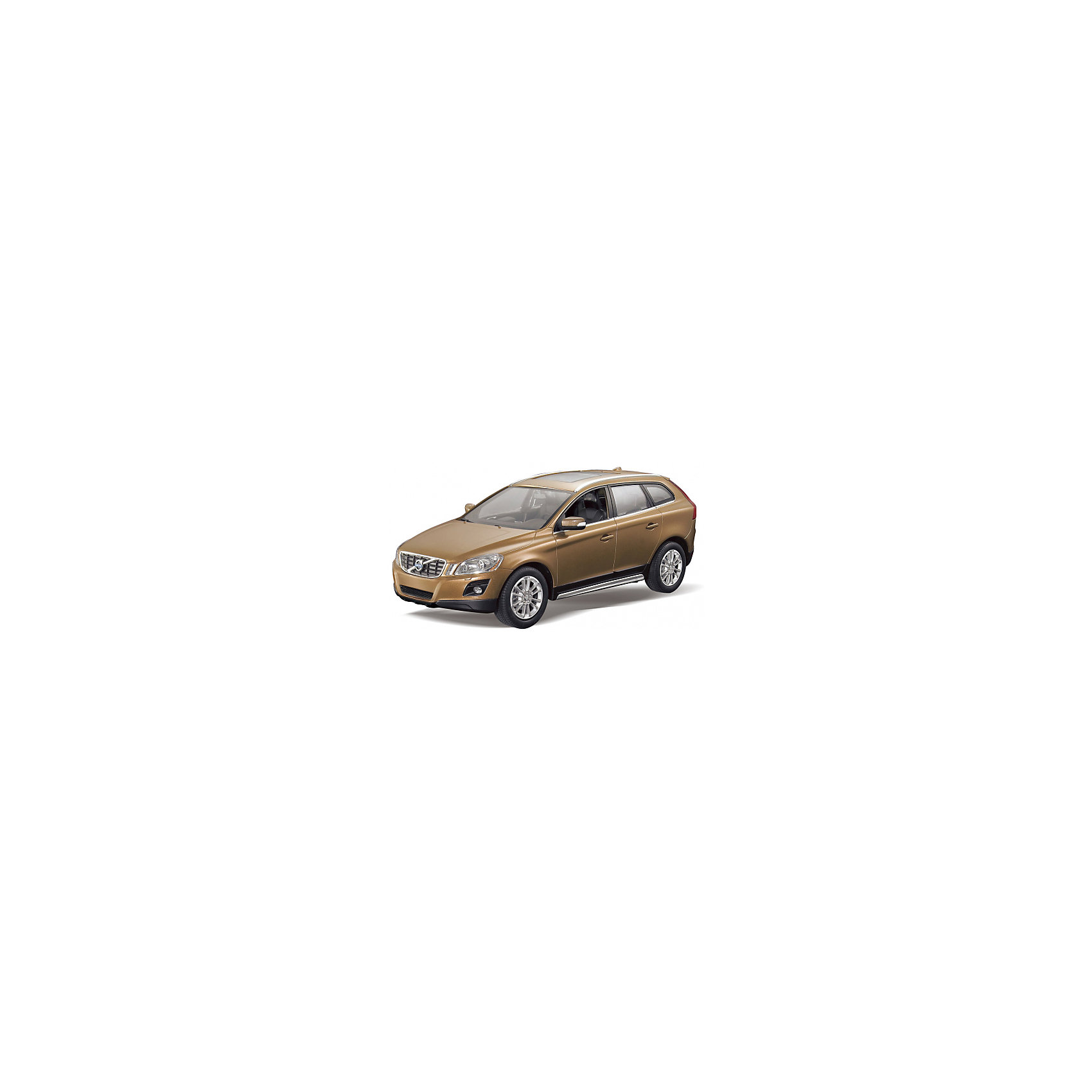 RASTAR Радиоуправляемая машина Volvo XC60 1:14, коричневыйRASTAR Радиоуправляемая машина Volvo XC60 1:14 - игрушка, которая наверняка приведет в восторг юного любителя  взрослых автомобилей: эта радиоуправляемая машина - уменьшенная копия настоящей Volvo! <br><br>Модель выполнена в масштабе 1: 14.<br><br>Особенности игрушки:<br><br>- Работает на частоте: 27MHz; <br>- Движение вперед, назад, вправо, влево; <br>- Контроль управления: 15 - 45 метров; <br>- Развивает скорость до: 7 км/ч; <br>- Светятся фары. <br><br><br>Дополнительная информация:<br><br><br>- Для работы требуются батарейки: 5 Х АА, 6F/22<br>(не входят в комплект).<br>- Размер упаковки: 45,5 х 21,5 х 19,5 см.<br>- Вес: 1,38 кг.<br><br>Ширина мм: 220<br>Глубина мм: 460<br>Высота мм: 200<br>Вес г: 1450<br>Возраст от месяцев: 36<br>Возраст до месяцев: 144<br>Пол: Мужской<br>Возраст: Детский<br>SKU: 4845195