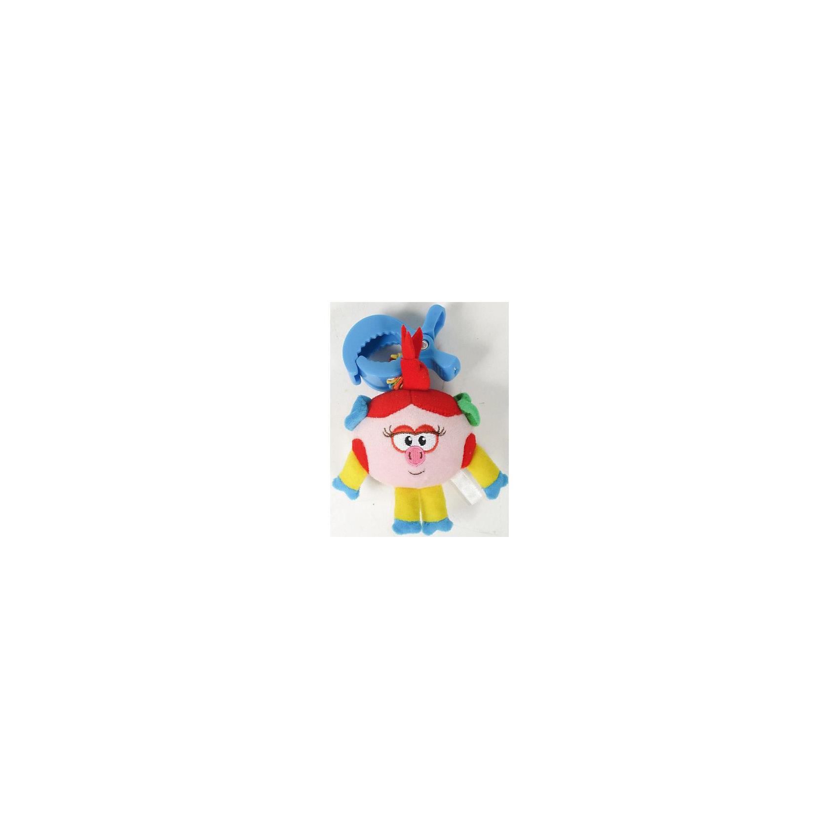 Погремушка-растяжка в руку  НюшаПогремушка-растяжка в руку Нюша<br><br>Характеристики:<br><br>• Материал: текстиль, пластмасса<br>• Размер: 11х14 см<br>• Возраст: от 3 месяцев<br>• Цвет: розовый<br><br>Погремушка с любимой героиней популярного мультфильма «Смешарики» порадует малыша своей яркостью, «шумностью» и мягкостью. Такая игрушка поможет ребенку развить звуковое, тактильное и цветовое восприятие. Ее можно прикрепить к бортику кровати или даже на ручку малыша. <br><br>Погремушку-растяжку в руку  Нюша можно купить в нашем интернет-магазине.<br><br>Ширина мм: 12<br>Глубина мм: 22<br>Высота мм: 5<br>Вес г: 90<br>Возраст от месяцев: 0<br>Возраст до месяцев: 36<br>Пол: Женский<br>Возраст: Детский<br>SKU: 4845300