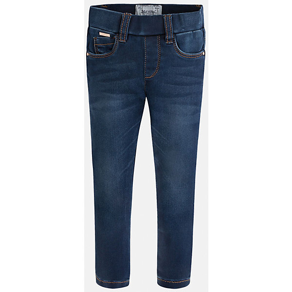 Леггинсы джинсовые для девочки MayoralДжинсовая одежда<br>Леггинсы - удобный и практичный вариант на каждый день, прекрасно сочетаются с любой одеждой.  Модель на эластичном поясе с резинкой дополнена пятью классическими карманами. Леггинсы Mayoral изготовлены из высококачественного материала, отлично сидят на фигуре, не сковывают движения, декорированы вышивкой на задних карманах.<br><br>Дополнительная информация:<br><br>- Регулировка по объему с помощью внутренней резинки. <br>- Покрой: прямой. <br>- 5 классических карманов.<br>- Вышивка в виде сердечек. <br>Состав: <br>- 69% хлопок, 28% полиэстер, 3% эластан.<br><br>Леггинсы для девочки Mayoral (Майорал), синие, можно купить в нашем магазине.<br><br>Ширина мм: 123<br>Глубина мм: 10<br>Высота мм: 149<br>Вес г: 209<br>Цвет: синий<br>Возраст от месяцев: 18<br>Возраст до месяцев: 24<br>Пол: Женский<br>Возраст: Детский<br>Размер: 92,128,104,116,110,98,122,134<br>SKU: 4845751