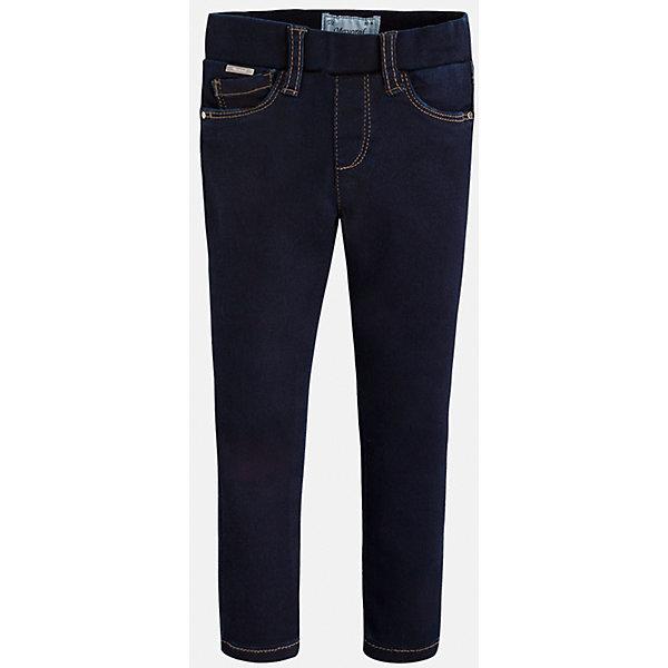 Леггинсы джинсовые для девочки MayoralЛеггинсы<br>Леггинсы - удобный и практичный вариант на каждый день, прекрасно сочетаются с любой одеждой.  Модель на эластичном поясе с резинкой дополнена пятью классическими карманами. Леггинсы Mayoral изготовлены из высококачественного материала, отлично сидят на фигуре, не сковывают движения, декорированы вышивкой на задних карманах.<br><br>Дополнительная информация:<br><br>- Регулировка по объему с помощью внутренней резинки. <br>- Покрой: прямой. <br>- 5 классических карманов.<br>- Вышивка в виде сердечек. <br>Состав: <br>- 69% хлопок, 28% полиэстер, 3% эластан.<br><br>Леггинсы для девочки Mayoral (Майорал), темно-синие, можно купить в нашем магазине.<br>Ширина мм: 123; Глубина мм: 10; Высота мм: 149; Вес г: 209; Цвет: синий; Возраст от месяцев: 18; Возраст до месяцев: 24; Пол: Женский; Возраст: Детский; Размер: 98,104,122,134,116,110,128,92; SKU: 4845760;