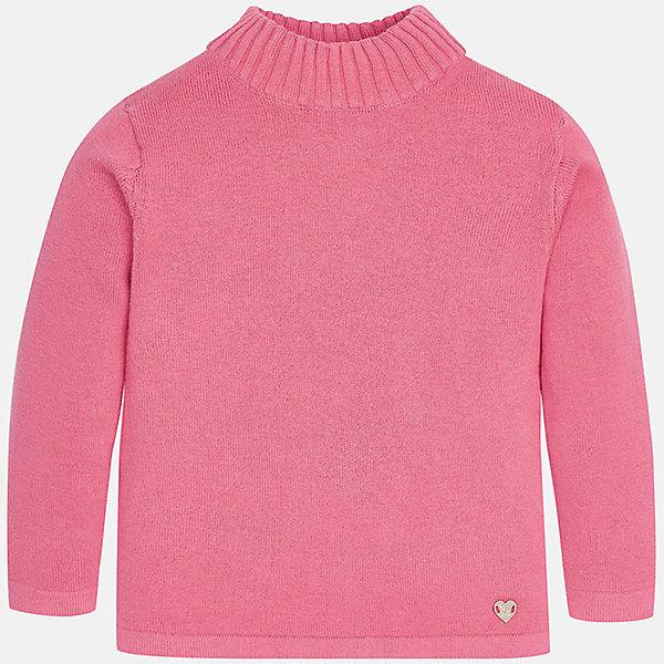 Водолазка для девочки MayoralВодолазки<br>Красивая розовая водолазка незаменима в прохладные дни. Удобная горловина, низ изделия декорирован маленьким сипатичным  сердечком.<br><br>Дополнительная информация:<br><br>- состав:  80% хлопок; 17% полиамид ; 3%  эластан<br> - вид застежки: без застежки<br>- длина рукава: длинные<br>- фактура материала: текстильный<br>- длина изделия: по спинке: 48 см<br>- покрой: прямой<br>- уход за вещами: бережная стирка при 30 градусах<br>- рисунок: без рисунка<br>- назначение: повседневная<br>- сезон: круглогодичный<br>- пол: девочки<br>- страна бренда: Испания<br>- страна производитель: Индия<br>- комплектация: водолазка<br><br>Водолазку торговой марки   Mayoral  можно купить в нашем интернет-магазине.<br><br><br>Ширина мм: 230<br>Глубина мм: 40<br>Высота мм: 220<br>Вес г: 250<br>Цвет: красный<br>Возраст от месяцев: 6<br>Возраст до месяцев: 9<br>Пол: Женский<br>Возраст: Детский<br>Размер: 74,92,86,80<br>SKU: 4845880