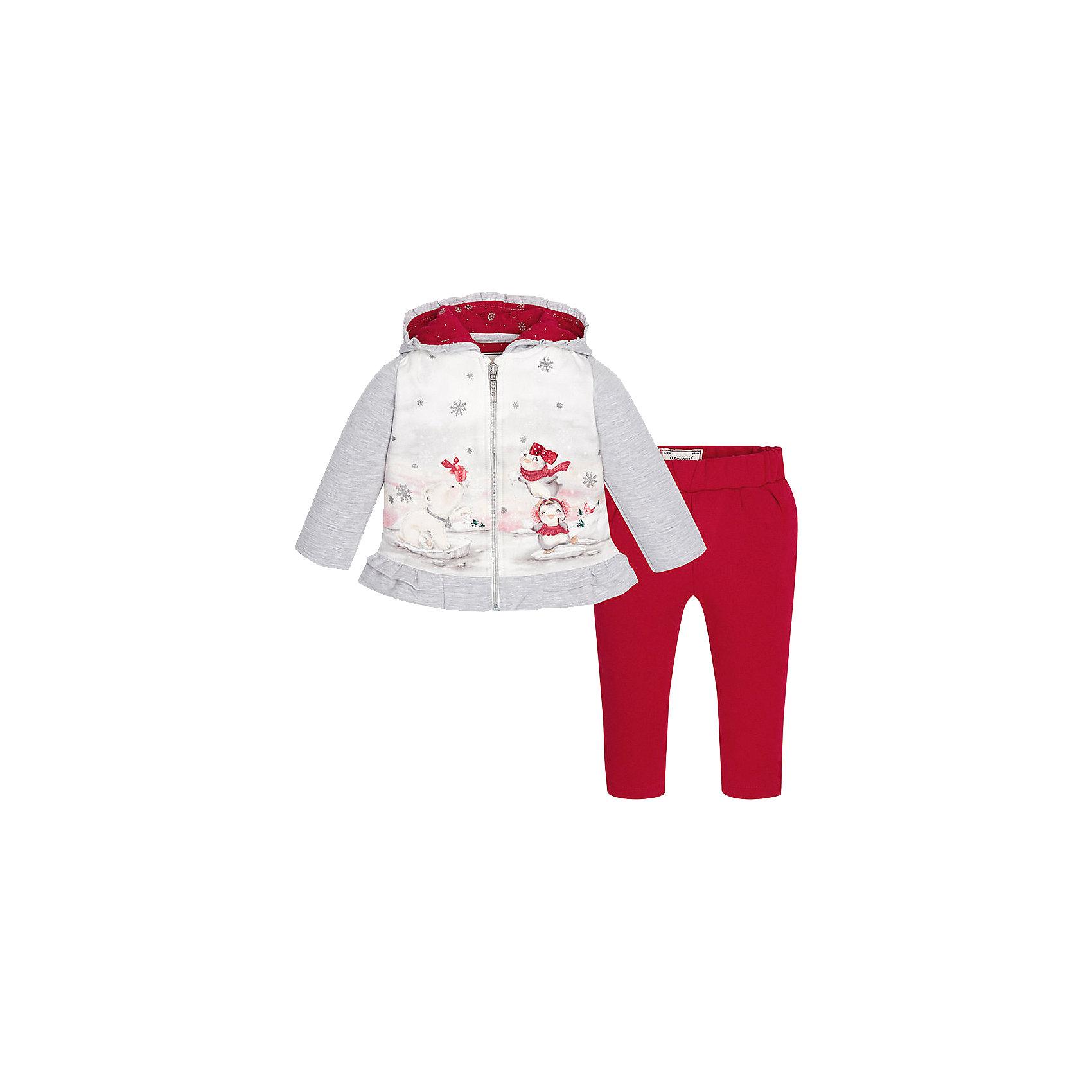 Mayoral Спортивный костюм для девочки Mayoral женские спортивный костюм bosco sport купить