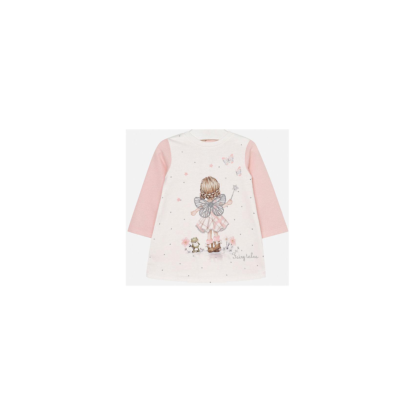 Mayoral Платье для девочки Mayoral клен розовое фламинго в спб где можно купить