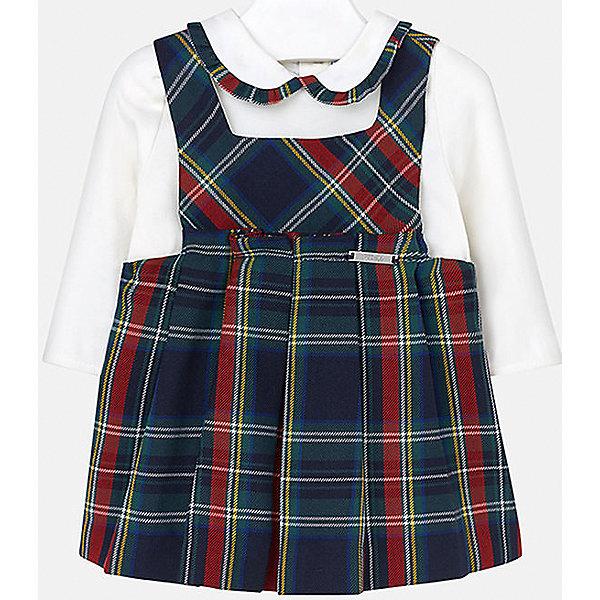 Купить Комплект для девочки: блузка и сарафан Mayoral, Китай, синий, 80, 92, 86, 74, Женский