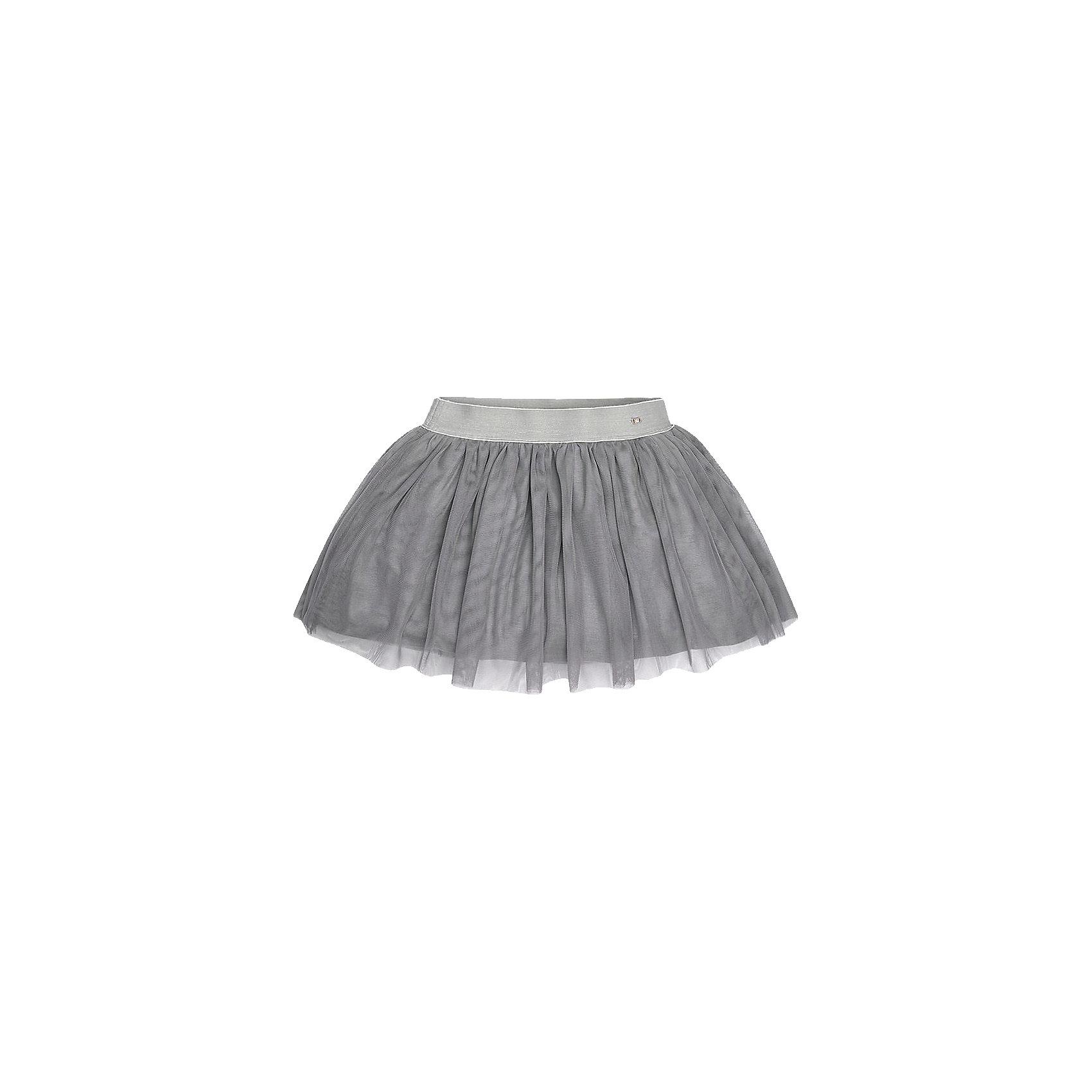 Юбка для девочки MayoralЮбка для девочки Mayoral (Майорал) от известного испанского бренда Mayoral. Расклешенная юбка выполнена из нежного тюля. Подклад юбки выполнен из джерси. Юбка имеет среднюю посадку, хорошо держит форму, эластичный пояс из широкой резинки серого цвета. Пытная юбка имеет стильный вид, благодаря этому ее можно использовать как праздничный вариант одежды.  <br><br>Дополнительная информация:<br><br>- Предназначение: праздничная одежда<br>- Цвет: серый<br>- Пол: для девочки<br>- Состав: верх юбки – 100% полиэстер; подклад – 67% вискоза, 29% полиамид, 4% эластан<br>- Сезон: весна-лето<br>- Особенности ухода: стирка при температуре 30 градусов, химчистка, глажка<br><br>Подробнее:<br><br>• Для детей в возрасте: от 8 лет и до 16 лет<br>• Страна производитель: Китай<br>• Торговый бренд: Mayoral<br><br>Юбку для девочки Mayoral (Майорал) можно купить в нашем интернет-магазине.<br><br>Ширина мм: 207<br>Глубина мм: 10<br>Высота мм: 189<br>Вес г: 183<br>Цвет: серый<br>Возраст от месяцев: 96<br>Возраст до месяцев: 108<br>Пол: Женский<br>Возраст: Детский<br>Размер: 146/152,128/134,164/170,158/164,152/158,134/140<br>SKU: 4847500