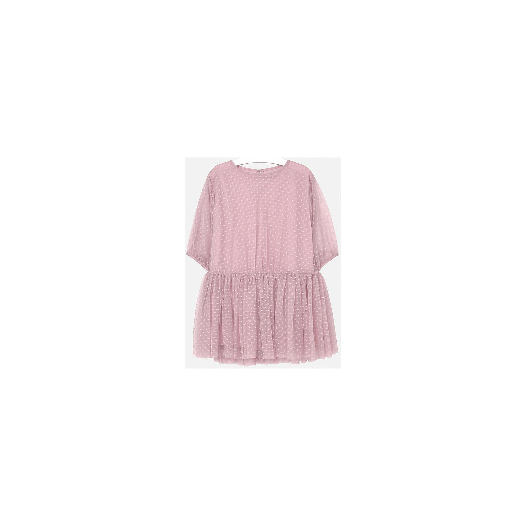 Mayoral Платье для девочки Mayoral платье в горошек в интернет магазине ретро