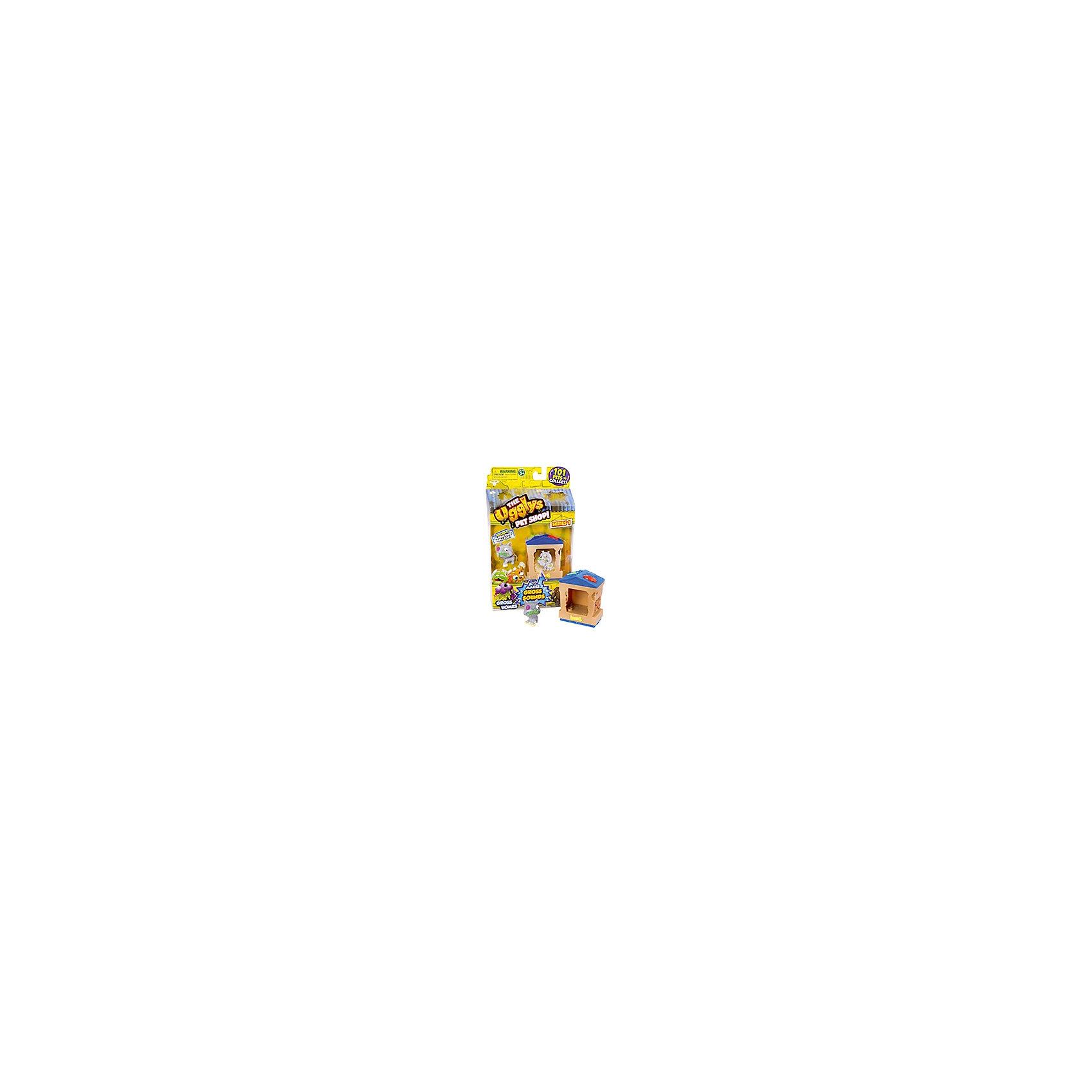 Набор Домик с фигуркой Bone Home, Ugglys Pet ShopНабор Домик с фигуркой, Ugglys Pet Shop – это настоящая находка для юной любительницы хулиганских питомцев.<br>Игровой набор из серии «Хулиганские животные» состоит из домика для питомца со звуковыми эффектами и уникальной фигурки питомца, которую нельзя найти в других упаковках и наборах серии. Яркий домик также неказист, как его обитатель, но может издавать преотвратительные звуки, если на него нажать. А если соединить несколько домиков вместе, то из них получится этакая шумная многоэтажная хрущоба для животных.<br><br>Дополнительная информация:<br><br>- В наборе: домик, уникальная фигурка<br>- Материал: высококачественная пластмасса, прорезиненный материал<br>- Батарейки: 2 батарейки LR44 (в комплект не входят)<br>- Размер упаковки: 140х230х50 мм.<br>- Вес: 189 гр.<br><br>Набор Домик с фигуркой, Ugglys Pet Shop можно купить в нашем интернет-магазине.<br><br>Ширина мм: 140<br>Глубина мм: 230<br>Высота мм: 50<br>Вес г: 189<br>Возраст от месяцев: 60<br>Возраст до месяцев: 144<br>Пол: Унисекс<br>Возраст: Детский<br>SKU: 4849994