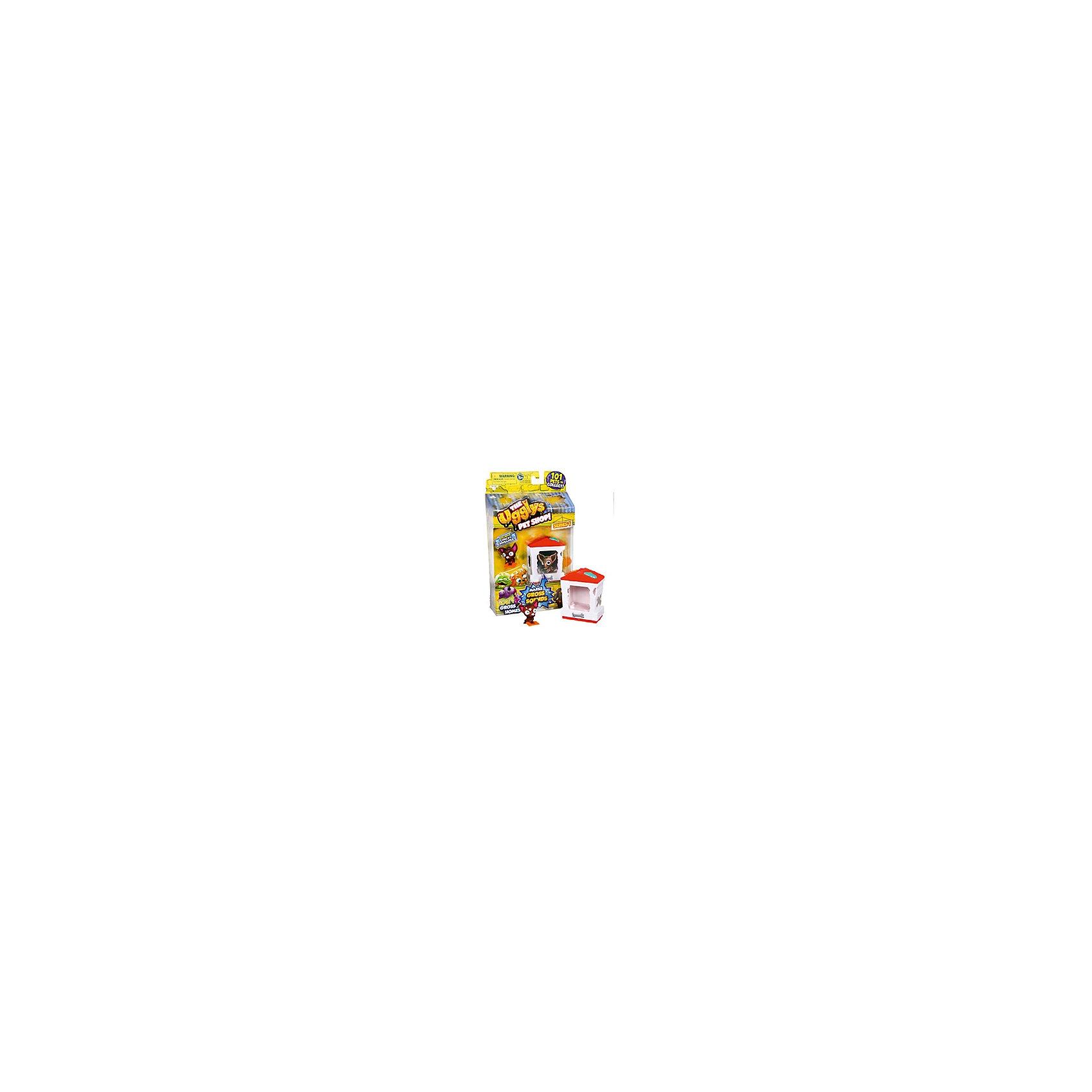 Набор Домик с фигуркой Catdhsck, Ugglys Pet ShopНабор Домик с фигуркой, Ugglys Pet Shop – это настоящая находка для юной любительницы хулиганских питомцев.<br>Игровой набор из серии «Хулиганские животные» состоит из домика для питомца со звуковыми эффектами и уникальной фигурки питомца, которую нельзя найти в других упаковках и наборах серии. Яркий домик также неказист, как его обитатель, но может издавать преотвратительные звуки, если на него нажать. А если соединить несколько домиков вместе, то из них получится этакая шумная многоэтажная хрущоба для животных.<br><br>Дополнительная информация:<br><br>- В наборе: домик, уникальная фигурка<br>- Материал: высококачественная пластмасса, прорезиненный материал<br>- Батарейки: 2 батарейки LR44 (в комплект не входят)<br>- Размер упаковки: 140х230х50 мм.<br>- Вес: 189 гр.<br><br>Набор Домик с фигуркой, Ugglys Pet Shop можно купить в нашем интернет-магазине.<br><br>Ширина мм: 140<br>Глубина мм: 230<br>Высота мм: 50<br>Вес г: 189<br>Возраст от месяцев: 60<br>Возраст до месяцев: 144<br>Пол: Унисекс<br>Возраст: Детский<br>SKU: 4849995