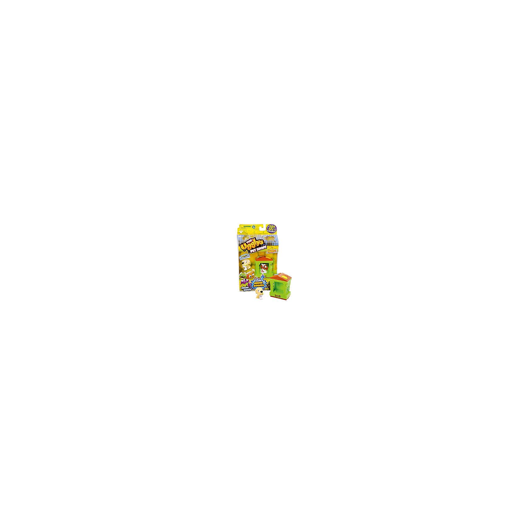 Набор Домик с фигуркой Rank Tank, Ugglys Pet ShopКоллекционные и игровые фигурки<br>Набор Домик с фигуркой, Ugglys Pet Shop – это настоящая находка для юной любительницы хулиганских питомцев.<br>Игровой набор из серии «Хулиганские животные» состоит из домика для питомца со звуковыми эффектами и уникальной фигурки питомца, которую нельзя найти в других упаковках и наборах серии. Яркий домик также неказист, как его обитатель, но может издавать преотвратительные звуки, если на него нажать. А если соединить несколько домиков вместе, то из них получится этакая шумная многоэтажная хрущоба для животных.<br><br>Дополнительная информация:<br><br>- В наборе: домик, уникальная фигурка<br>- Материал: высококачественная пластмасса, прорезиненный материал<br>- Батарейки: 2 батарейки LR44 (в комплект не входят)<br>- Размер упаковки: 140х230х50 мм.<br>- Вес: 189 гр.<br><br>Набор Домик с фигуркой, Ugglys Pet Shop можно купить в нашем интернет-магазине.<br><br>Ширина мм: 140<br>Глубина мм: 230<br>Высота мм: 50<br>Вес г: 189<br>Возраст от месяцев: 60<br>Возраст до месяцев: 144<br>Пол: Унисекс<br>Возраст: Детский<br>SKU: 4849998