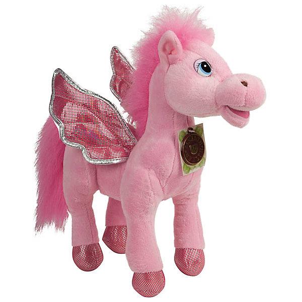 Мягкая игрушка Пони с крыльями, розовая, МУЛЬТИ-ПУЛЬТИМузыкальные мягкие игрушки<br>Очаровательная мягкая лошадка с крылышками обязательно понравится девочке! Пони расскажет своей хозяйке веселые стихи, споет песенку или просто поговорит. Игрушка выполнена из высококачественных материалов, плотно набита, очень приятна на ощупь. <br><br>Дополнительная информация: <br><br>- Материал: пластик, текстиль, синтепон.<br>- Размер: 25 см.<br>- 3 фразы, 4 стишка, 2 песенки.<br>- Элемент питания: батарейки (в комплекте).<br><br>Мягкую игрушку Пони с крыльями, МУЛЬТИ-ПУЛЬТИ можно купить в нашем магазине.<br><br>Ширина мм: 300<br>Глубина мм: 260<br>Высота мм: 100<br>Вес г: 420<br>Возраст от месяцев: 36<br>Возраст до месяцев: 120<br>Пол: Женский<br>Возраст: Детский<br>SKU: 4850049