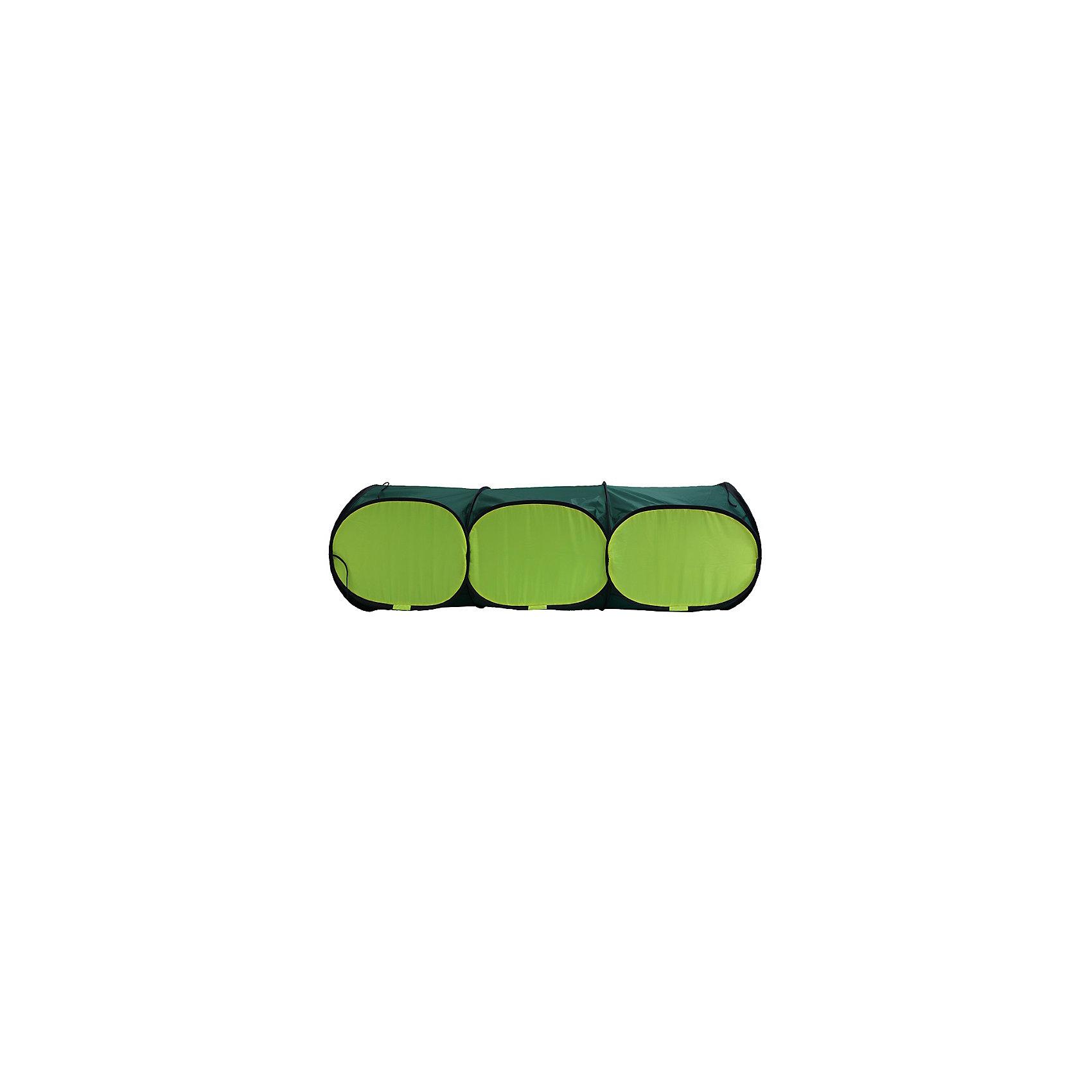 Тоннель, 3 секцииРазмер тоннеля: 150см х 50см<br>Используемые материалы: прочный синтетический водоотталкивающий материал, стальная пружинная лента.<br><br>Ширина мм: 460<br>Глубина мм: 620<br>Высота мм: 60<br>Вес г: 1100<br>Возраст от месяцев: 36<br>Возраст до месяцев: 120<br>Пол: Унисекс<br>Возраст: Детский<br>SKU: 4852049
