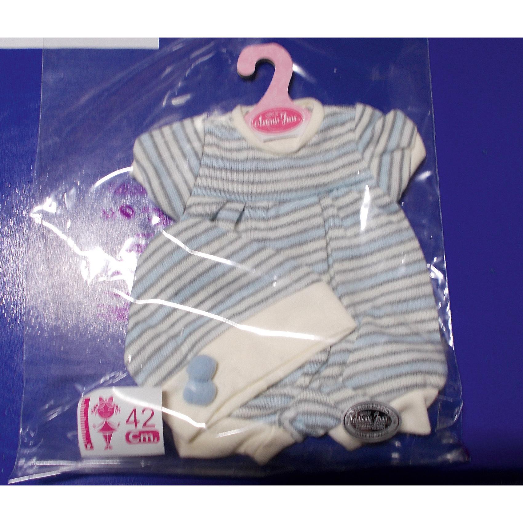 Munecas Antonio Juan Одежда для кукол высотой 42 см, Munecas Antonio Juan куклы и одежда для кукол bayer малышка первый поцелуй 42 см