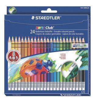 Staedtler Цветные карандаши с ластиком NorisClub, 24 цв.