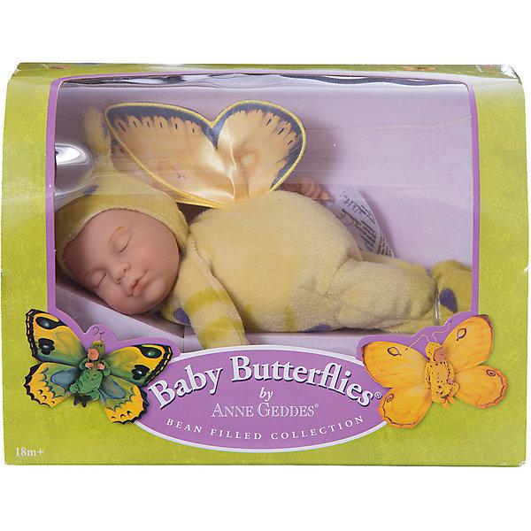 Кукла-бабочка Anne Geddes, 23 см, UNIMAXКуклы<br>Anne Geddes  - милая кукла-бабочка, от которой невозможно оторвать глаз. Она одета в красивую, яркую одежду, с крылышками. Игрушка выполнена из высококачественного винила, а материал одежды из прочного текстиля. Этот сладко спящий малыш не оставит равнодушным ни одного ценителя прекрасного.<br><br>Дополнительная информация:<br><br>-Материал: ткань, винил<br>-Размер игрушки: 24 х 18 х 12 см<br>-Вес: 0.29 кг<br><br>Куклу-бабочку Anne Geddes, 23 см, UNIMAX можно купить в нашем интернет-магазине.<br><br>Ширина мм: 240<br>Глубина мм: 120<br>Высота мм: 180<br>Вес г: 438<br>Возраст от месяцев: 36<br>Возраст до месяцев: 96<br>Пол: Женский<br>Возраст: Детский<br>SKU: 4853793