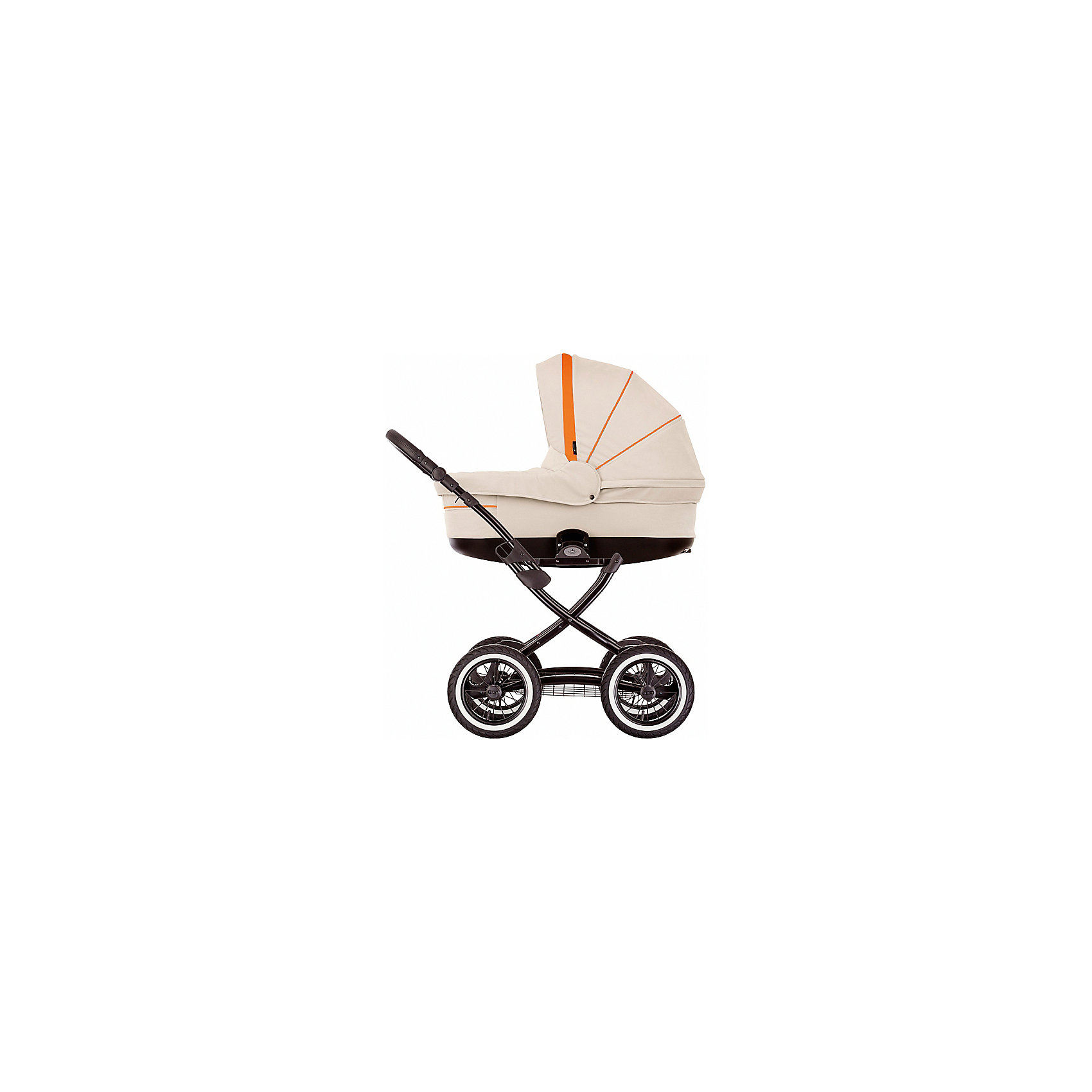Коляска 2 в 1 Sun Classic, Noordi, св.бежевыйКоляска 2 в 1 Sun Classic, Noordi,  светло бежевый (Нурди Сан Классик) – современная модель детской коляски с классическими функциями и стилизованным дизайном. Маневренность и высокий уровень проходимости делает ее незаменимой для родителей, которые ведут активный образ жизни.<br>Все материалы, используемые в коляске 2 в 1 Нурди Арктик Спорт, отличаются высоким качеством и надежностью в эксплуатации. <br>Коляска 2 в 1 Sun Classic, Noordi, светло бежевый вместительная, удобная и ортопедическая, ее внутренняя отделка ? хлопок 100%, на дне люльки имеются вентиляционные отверстия, которые можно закрывать. Усовершенствованная система амортизации позволяют ее использовать в качестве колыбели для самых маленьких. Прогулочный блок коляски 2 в 1 Sun Classic, Noordi, светло бежевый оснащен водоотталкивающей тканью, устойчивой к износу и загрязнениям. Безопасность обеспечивается ремнями безопасности.<br>Поворотные передние колеса с возможностью фиксации делают эту модель легко управляемой даже на самых неровных дорогах и тротуарах.  <br><br>Дополнительная информация:<br><br>- Механизм складывания: книжка<br>- Цвет: светло бежевый<br>- Сезон: зима-лето<br>- Комплектация: чехол на ножки, сумка для мамы, силиконовый дождевик, антимоскитная сетка, закрепленная на люльке<br>- Ширина шасси: 59 см<br>- Диаметр колес: передние ? 23 см, задние ? 28 см<br>- Ручка: регулируется по высоте<br>- Размер люльки (ДxШ): 85х38<br>- Размер (ДxВхШ): 90х60х60 см<br>- Материал: водоотталкивающий текстиль, устойчивый к выгоранию и износу<br>- Вес 14,0 кг<br><br>Подробнее:<br><br>- Для детей в возрасте: от 0 месяцев до 3 лет<br><br>Страна производитель: Литва<br><br>Коляска 2 в 1 Sun Classic, Noordi, светло бежевый можно купить в нашем интернет-магазине.<br><br>Ширина мм: 900<br>Глубина мм: 600<br>Высота мм: 600<br>Вес г: 14000<br>Возраст от месяцев: 0<br>Возраст до месяцев: 36<br>Пол: Унисекс<br>Возраст: Детский<br>SKU: 4855084