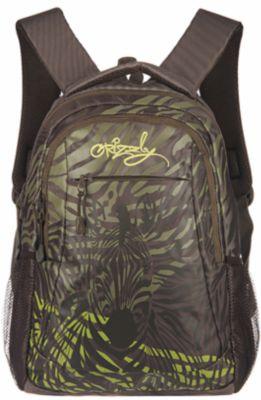 Рюкзак школьный Grizzly Хаки