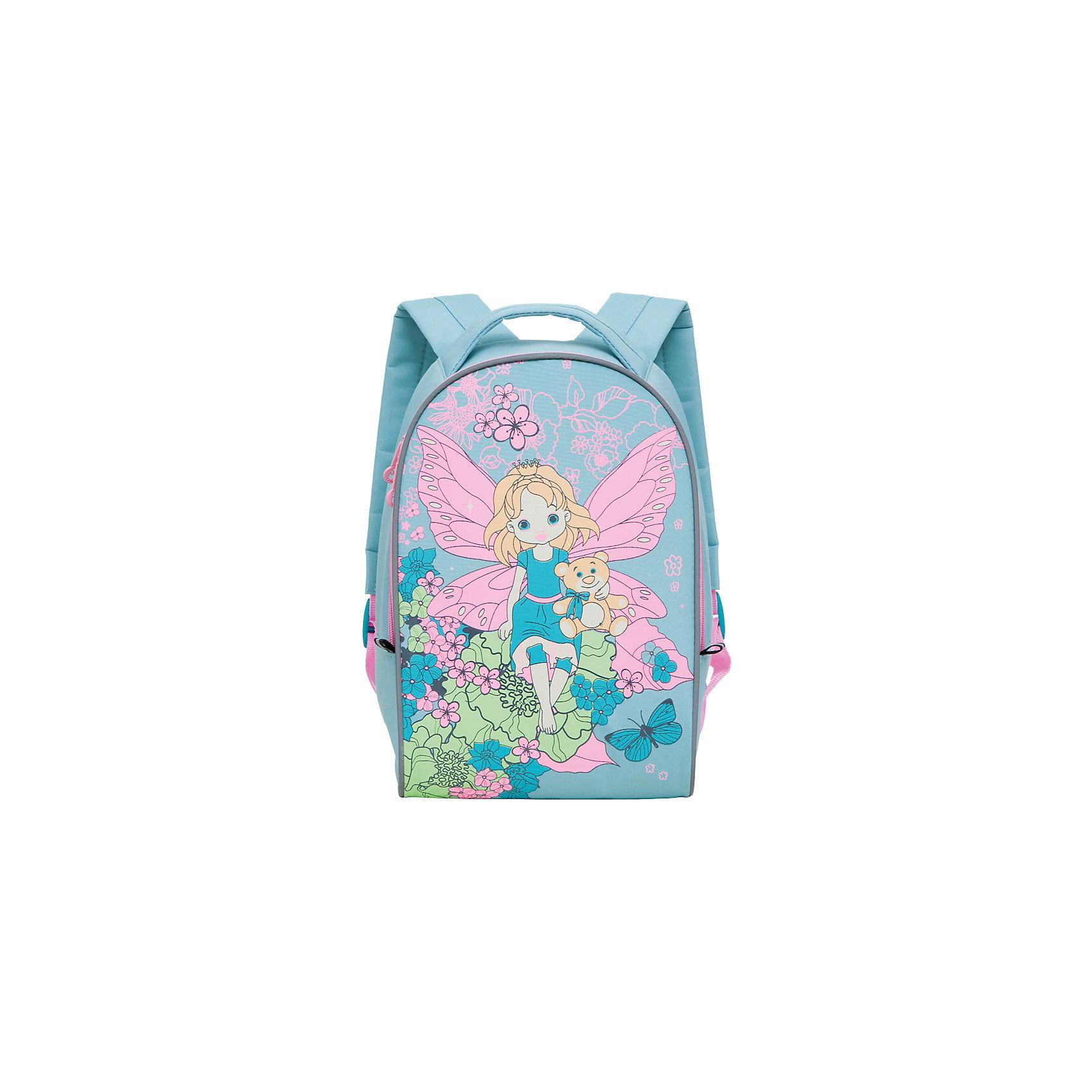 Grizzly Рюкзак детский, мятаДетские рюкзаки<br>Детский рюкзак, мята, Grizzly (Гризли) ? рюкзак отечественного бренда Гризли детской серии. Легкий по весу, прочный, рюкзак учитывает все анатомические и возрастные особенности детей дошкольного возраста. Все рюкзаки детской серии ортопедические, с укрепленной спинкой и широкими регулируемыми под рост ребенка лямками, что защищает от развития искривления позвоночника.<br>Детский рюкзак, мята, Grizzly (Гризли) изготовлен из микрофибры, отличительными свойствами которой является способность сохранять форму, устойчивость к загрязнениям и повреждениям. За рюкзаком из микрофибры очень легко ухаживать: его можно стирать, он быстро высыхает, при частых стирках не теряет форму и цвет.<br>Детские рюкзаки Grizzly (Гризли) отличаются ярким дизайном, оригинальными цветовыми решениями как самого рюкзака, так и его аксессуаров и элементов: декоративные застежки-молнии, швы, выполненные цветными капроновыми нитками, обеспечивают качество и надежность эксплуатации.<br>Все рюкзаки детской серии многофункциональны и удобны: их можно брать с собой на прогулку, на спортивные и творческие занятия. Детям, которые посещают предшкольную подготовку, рюкзак станет обязательным атрибутом подготовки к школьной жизни.<br>Детский рюкзак, мята, Grizzly (Гризли) состоит из одного вместительного отделения. Для обеспечения безопасности передвижения ребенка в темное время суток рюкзак с четырех сторон оснащен светоотражающими элементами. На передней стенке рюкзака имеется сюжетная аппликация. Детский рюкзак, мята, Grizzly (Гризли) ? это качество материалов, безопасность, стиль и долговечность использования. <br><br><br>Дополнительная информация:<br><br>- Вес: 325 г<br>- Габариты (Д*Г*В): 25*13*33 см<br>- Цвет: зеленый, голубой, розовый<br>- Материал: микрофибра <br>- Сезон: круглый год<br>- Коллекция: детская <br>- Год коллекции: 2016 <br>- Пол: девочки<br>- Предназначение: для прогулок, для посещения спортивных и творческих занятий, для путешествий<br>-