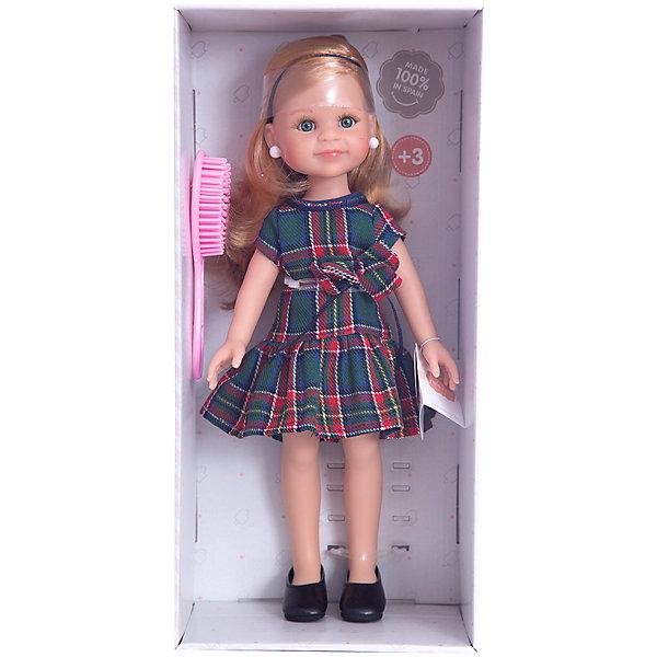 Кукла Клэр, 32 смКуклы<br>Куклы Паола Рейна  имеют нежный ванильный аромат, одеты в модную яркую одежду с аксессуарами. Выразительная мимика, уникальный и неповторимый дизайн лица и тела.<br>Качество подтверждено нормами безопасности EN17 ЕЭС. <br>Материалы: кукла изготовлена из винила; глаза выполнены в виде кристалла из прозрачного твердого пластика; волосы сделаны из высококачественного нейлона.<br><br>Ширина мм: 11<br>Глубина мм: 23<br>Высота мм: 41<br>Вес г: 667<br>Возраст от месяцев: 36<br>Возраст до месяцев: 144<br>Пол: Женский<br>Возраст: Детский<br>SKU: 4859654