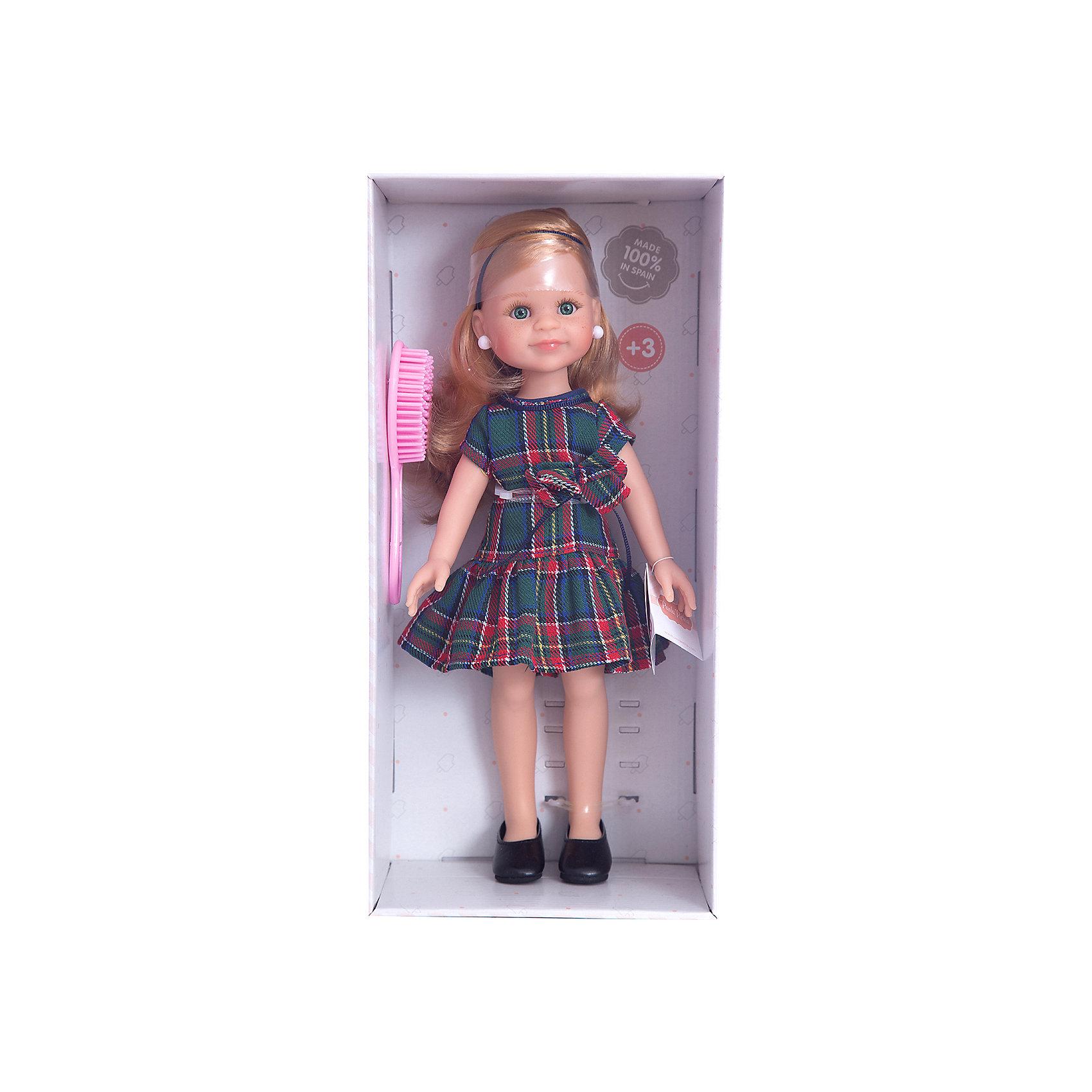 Кукла Клэр, 32 смКлассические куклы<br>Куклы Паола Рейна  имеют нежный ванильный аромат, одеты в модную яркую одежду с аксессуарами. Выразительная мимика, уникальный и неповторимый дизайн лица и тела.<br>Качество подтверждено нормами безопасности EN17 ЕЭС. <br>Материалы: кукла изготовлена из винила; глаза выполнены в виде кристалла из прозрачного твердого пластика; волосы сделаны из высококачественного нейлона.<br><br>Ширина мм: 11<br>Глубина мм: 23<br>Высота мм: 41<br>Вес г: 667<br>Возраст от месяцев: 36<br>Возраст до месяцев: 144<br>Пол: Женский<br>Возраст: Детский<br>SKU: 4859654