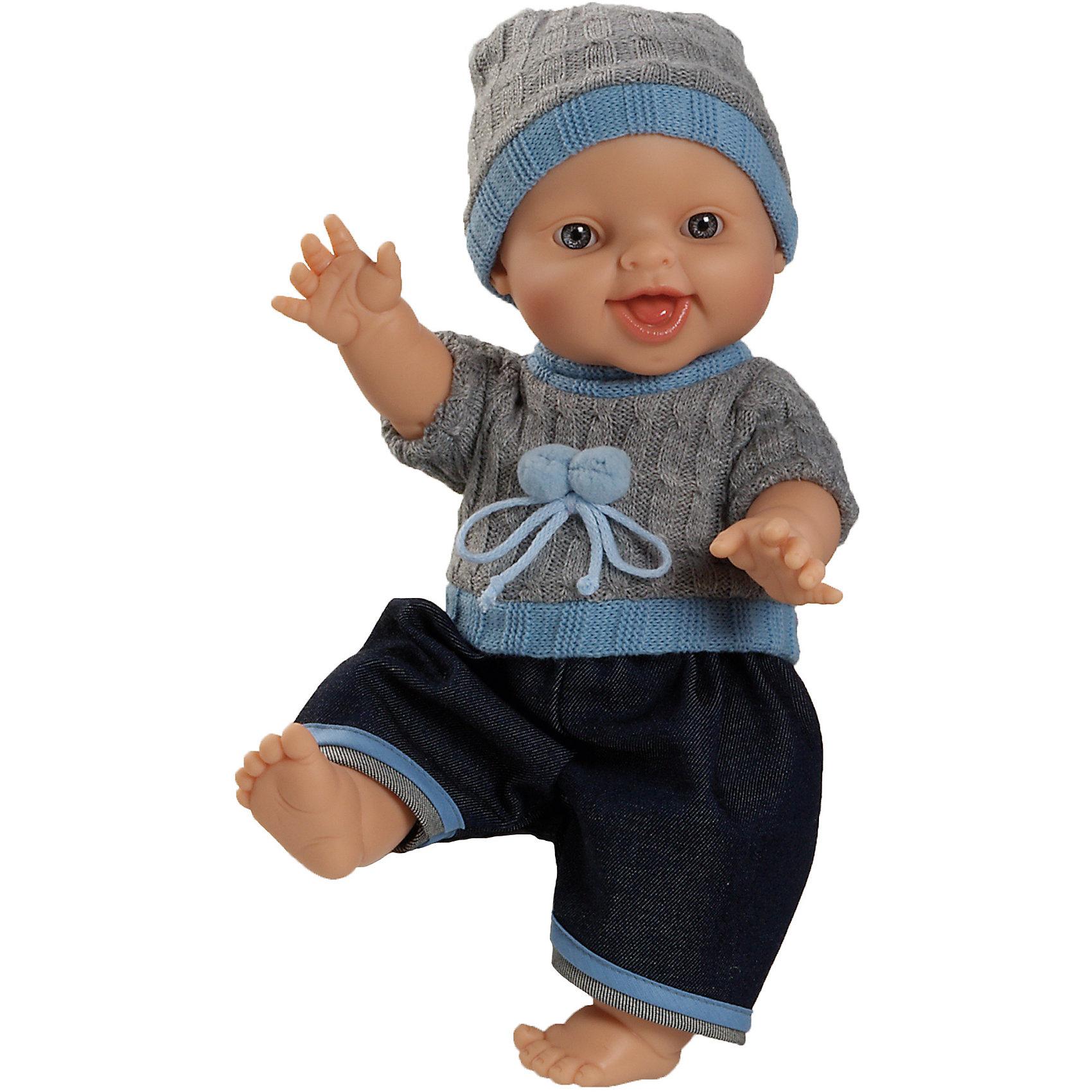 Кукла Горди Бруно,34 см (мальчик)Классические куклы<br>Куклы Паола Рейна  имеют нежный ванильный аромат, одеты в модную яркую одежду с аксессуарами. Выразительная мимика, уникальный и неповторимый дизайн лица и тела.<br>Качество подтверждено нормами безопасности EN17 ЕЭС. <br>Материалы: кукла изготовлена из винила; глаза выполнены в виде кристалла из прозрачного твердого пластика; волосы сделаны из высококачественного нейлона.<br><br>Ширина мм: 18<br>Глубина мм: 20<br>Высота мм: 31<br>Вес г: 750<br>Возраст от месяцев: 36<br>Возраст до месяцев: 144<br>Пол: Женский<br>Возраст: Детский<br>SKU: 4859657
