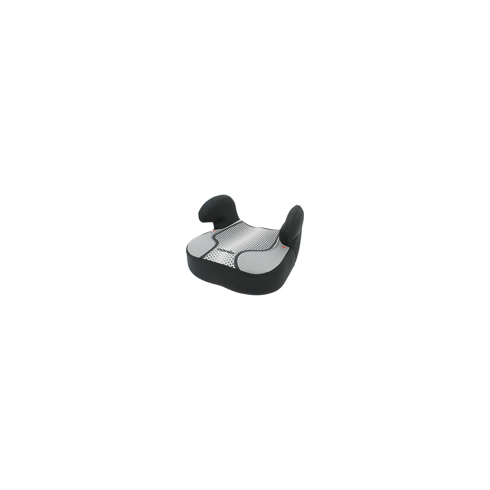 Бустер Dream FST 15-36 кг., Nania, pop blackБустер Dream FST от Nania позволит перевозить ребенка, не беспокоясь при этом о его безопасности. Он предназначен для детей весом от 15 до 36 килограмм. Такой бустер обеспечит малышу не только безопасность, но и комфорт. Ребенок закрепляется  штатными автомобильными ремнями безопасности. Подлокотники обеспечат малышу дополнительное удобство.<br>Автокресло устанавливают по ходу движения. Бустер ставится в автомобилях с трехточечными ремнями безопасности на заднем сиденье с краю. Такое кресло дает возможность свободно путешествовать, ездить в гости и при этом  быть рядом с малышом. Конструкция - очень удобная и прочная. Изделие произведено из качественных и безопасных для малышей материалов, оно соответствуют всем современным требованиям безопасности. Дополнено съемным чехлом, который можно стирать. Соответствует Европейскому Стандарту Безопасности ECE R44/03.<br> <br>Дополнительная информация:<br><br>цвет: черный;<br>подлокотники;<br>материал: текстиль, пластик;<br>вес ребенка:  15 до 36 кг;<br>вес кресла: 6,7 кг;<br>съемный чехол.<br><br>Бустер Dream FST 15-36 кг., rock от компании Nania можно купить в нашем магазине.<br><br>Ширина мм: 410<br>Глубина мм: 430<br>Высота мм: 260<br>Вес г: 6720<br>Возраст от месяцев: 36<br>Возраст до месяцев: 144<br>Пол: Унисекс<br>Возраст: Детский<br>SKU: 4860495