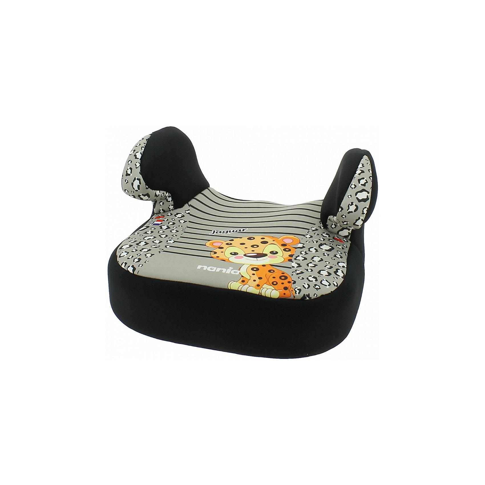 Бустер Dream 15-36 кг., Nania, jaguarБустер Dream от Nania позволит перевозить ребенка, не беспокоясь при этом о его безопасности. Он предназначен для детей весом от 15 до 36 килограмм. Такой бустер обеспечит малышу не только безопасность, но и комфорт. Ребенок закрепляется  штатными автомобильными ремнями безопасности. Подлокотники обеспечат малышу дополнительное удобство.<br>Автокресло устанавливают по ходу движения. Бустер ставится в автомобилях с трехточечными ремнями безопасности на заднем сиденье с краю. Такое кресло дает возможность свободно путешествовать, ездить в гости и при этом  быть рядом с малышом. Конструкция - очень удобная и прочная. Изделие произведено из качественных и безопасных для малышей материалов, оно соответствуют всем современным требованиям безопасности. Дополнено съемным чехлом, который можно стирать. Соответствует Европейскому Стандарту Безопасности ECE R44/03.<br> <br>Дополнительная информация:<br><br>цвет: серый, с принтом;<br>подлокотники;<br>материал: текстиль, пластик;<br>вес ребенка:  15 до 36 кг;<br>вес кресла: 6,7 кг;<br>съемный чехол.<br><br>Бустер Dream 15-36 кг., rock от компании Nania можно купить в нашем магазине.<br><br>Ширина мм: 410<br>Глубина мм: 430<br>Высота мм: 260<br>Вес г: 6720<br>Возраст от месяцев: 36<br>Возраст до месяцев: 144<br>Пол: Унисекс<br>Возраст: Детский<br>SKU: 4860498