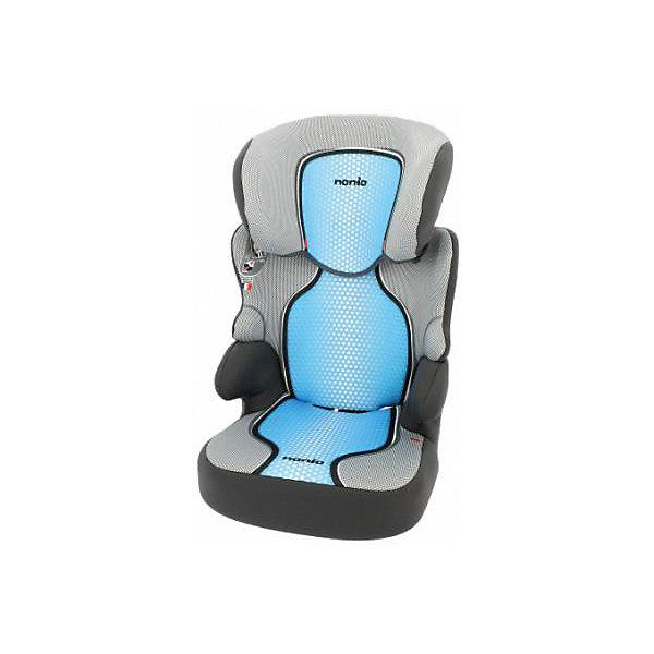 Автокресло Nania Befix SP FST 15-36 кг, pop blueГруппа 2-3  (от 15 до 36 кг)<br>Качественное высокотехнологичное автокресло Befix SP FST от Nania позволит перевозить ребенка, не беспокоясь при этом о его безопасности. Оно предназначено для детей весом от 15 до 36 килограмм. Такое кресло обеспечит малышу не только безопасность, но и комфорт. Ребенок закрепляется  штатными автомобильными ремнями безопасности.<br>Автокресло устанавливают по ходу движения. В кресле изменяется высота спинки, она может вообще сниматься. Такое кресло дает возможность свободно путешествовать, ездить в гости и при этом  быть рядом с малышом. Конструкция - очень удобная и прочная. Изделие произведено из качественных и безопасных для малышей материалов, оно соответствуют всем современным требованиям безопасности. Дополнено съемным чехлом, который можно стирать. Соответствует Европейскому Стандарту Безопасности ECE R44/04.<br> <br>Дополнительная информация:<br><br>цвет: черный, серый, голубой;<br>материал: текстиль, пластик;<br>вес ребенка:  15 до 36 кг;<br>вес кресла: 8,78 кг;<br>съемная спинка<br>съемный чехол.<br><br>Автокресло Befix SP FST от компании Nania можно купить в нашем магазине.<br><br>Ширина мм: 450<br>Глубина мм: 500<br>Высота мм: 710<br>Вес г: 8780<br>Возраст от месяцев: 36<br>Возраст до месяцев: 144<br>Пол: Унисекс<br>Возраст: Детский<br>SKU: 4860502