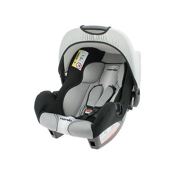 Автокресло Nania Beone SP FST 0-13 кг, pop blackГруппа 0+  (до 13 кг)<br>Качественное высокотехнологичное автокресло Beone SP FST от Nania позволит перевозить ребенка, не беспокоясь при этом о его безопасности. Оно предназначено для детей весом от 0 до 13 килограмм. Такое кресло обеспечит малышу не только безопасность, но и комфорт. Прочный каркас анатомической формы сделан из полипропилена. Поглощающая силу удара прослойка произведена из полистирола. Есть 5точечные ремни безопасности с тремя уровнями регулировки по высоте и мягкими плечевыми накладками.<br>Автокресло устанавливают против хода движения. Есть улучшенный вкладыш и ручка для переноски ребенка. Такое кресло дает возможность свободно путешествовать, ездить в гости и при этом  быть рядом с малышом. Конструкция - очень удобная и прочная. Изделие произведено из качественных и безопасных для малышей материалов, оно соответствуют всем современным требованиям безопасности. Дополнено съемным чехлом, который можно стирать. Соответствует Европейскому Стандарту Безопасности ECE R44/03.<br> <br>Дополнительная информация:<br><br>цвет: серый, черный;<br>материал: текстиль, пластик;<br>вес ребенка:  0 до 13 кг;<br>вес кресла: 7,69 кг;<br>ручка для переноски;<br>регулируемые 5точечные ремни безопасности;<br>съемный чехол.<br><br>Автокресло Beone SP FST 0-13 кг., от компании Nania можно купить в нашем магазине.<br>Ширина мм: 390; Глубина мм: 720; Высота мм: 400; Вес г: 7690; Возраст от месяцев: 0; Возраст до месяцев: 12; Пол: Унисекс; Возраст: Детский; SKU: 4860504;