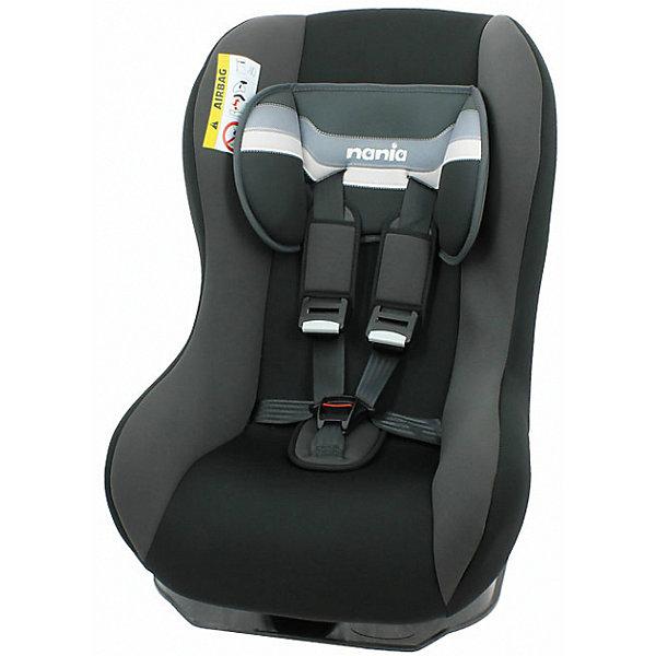Автокресло Nania Maxim FST 0-18 кг, horizon blackГруппа 0-1 (до 18 кг)<br>Качественное высокотехнологичное автокресло Maxim FST от Nania позволит перевозить ребенка, не беспокоясь при этом о его безопасности. Оно предназначено для детей весом от 0 до 18 килограмм. Такое кресло обеспечит малышу не только безопасность, но и комфорт. Поглощающая силу удара прослойка произведена из полистирола. Есть 5точечные ремни безопасности с возможностью регулировки.<br>Такое кресло дает возможность свободно путешествовать, ездить в гости и при этом  быть рядом с малышом. Конструкция - очень удобная и прочная. Изделие произведено из качественных и безопасных для малышей материалов, оно соответствуют всем современным требованиям безопасности. Дополнено съемным чехлом, который можно стирать. Соответствует Европейскому Стандарту Безопасности ECE R44/03.<br> <br>Дополнительная информация:<br><br>цвет: черный;<br>материал: текстиль, пластик;<br>вес ребенка:  0 до 18 кг;<br>вес кресла: 9,97 кг;<br>регулируемые 5точечные ремни безопасности;<br>съемный чехол.<br><br>Автокресло Maxim FST 0-18 кг., от компании Nania можно купить в нашем магазине.<br>Ширина мм: 570; Глубина мм: 450; Высота мм: 595; Вес г: 9970; Возраст от месяцев: 0; Возраст до месяцев: 48; Пол: Унисекс; Возраст: Детский; SKU: 4860508;