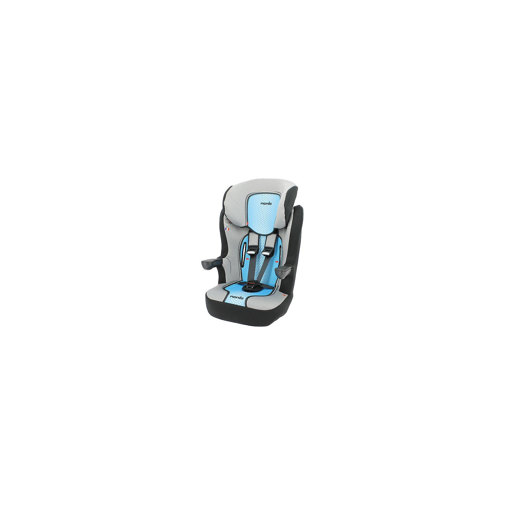 Автокресло Nania Imax SP FST 9-36 кг, pop blueГруппа 1-2-3 (От 9 до 36 кг)<br>Качественное высокотехнологичное автокресло Imax SP FST от Nania позволит перевозить ребенка, не беспокоясь при этом о его безопасности. Оно предназначено для детей весом от 9 до 36 килограмм. Такое кресло обеспечит малышу не только безопасность, но и комфорт. Ребенок закрепляется  штатными автомобильными ремнями безопасности.<br>Автокресло устанавливают по ходу движения. Высокий уровень безопасности обеспечен благодаря цельному литому корпусу и продуманной конструкции автокресла. Такое кресло дает возможность свободно путешествовать, ездить в гости и при этом  быть рядом с малышом. Конструкция - очень удобная и прочная. Изделие произведено из качественных и безопасных для малышей материалов, оно соответствуют всем современным требованиям безопасности. Дополнено съемным чехлом, который можно стирать. Отлично показало себя на краш0тестах.<br> <br>Дополнительная информация:<br><br>цвет: голубой, черный, серый;<br>материал: текстиль, пластик;<br>вес ребенка:  9 до 36 кг;<br>вес кресла: 10,5 кг;<br>литой корпус;<br>съемный чехол.<br><br>Автокресло Imax SP FST от компании Nania можно купить в нашем магазине.<br><br>Ширина мм: 500<br>Глубина мм: 450<br>Высота мм: 710<br>Вес г: 10520<br>Возраст от месяцев: 9<br>Возраст до месяцев: 144<br>Пол: Унисекс<br>Возраст: Детский<br>SKU: 4860512
