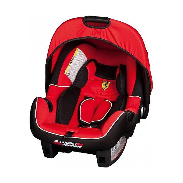 Автокресло Nania Beone SP 0-13 кг, corsa ferrariГруппа 0+  (до 13 кг)<br>Качественное высокотехнологичное автокресло Beone SP  от Nania позволит перевозить ребенка, не беспокоясь при этом о его безопасности. Оно предназначено для детей весом от 0 до 13 килограмм. Такое кресло обеспечит малышу не только безопасность, но и комфорт. Прочный каркас анатомической формы сделан из полипропилена. Поглощающая силу удара прослойка произведена из полистирола. Есть 5точечные ремни безопасности с тремя уровнями регулировки по высоте и мягкими плечевыми накладками.<br>Автокресло устанавливают против хода движения. Есть улучшенный вкладыш и ручка для переноски ребенка. Такое кресло дает возможность свободно путешествовать, ездить в гости и при этом  быть рядом с малышом. Конструкция - очень удобная и прочная. Изделие произведено из качественных и безопасных для малышей материалов, оно соответствуют всем современным требованиям безопасности. Дополнено съемным чехлом, который можно стирать. Соответствует Европейскому Стандарту Безопасности ECE R44/03.<br> <br>Дополнительная информация:<br><br>цвет: красный, с логотипом Феррари;<br>материал: текстиль, пластик;<br>вес ребенка:  0 до 13 кг;<br>вес кресла: 7,69 кг;<br>ручка для переноски;<br>регулируемые 5точечные ремни безопасности;<br>съемный чехол.<br><br>Автокресло Beone SP 0-13 кг., от компании Nania можно купить в нашем магазине.<br>Ширина мм: 390; Глубина мм: 720; Высота мм: 400; Вес г: 7690; Возраст от месяцев: 0; Возраст до месяцев: 12; Пол: Мужской; Возраст: Детский; SKU: 4860516;