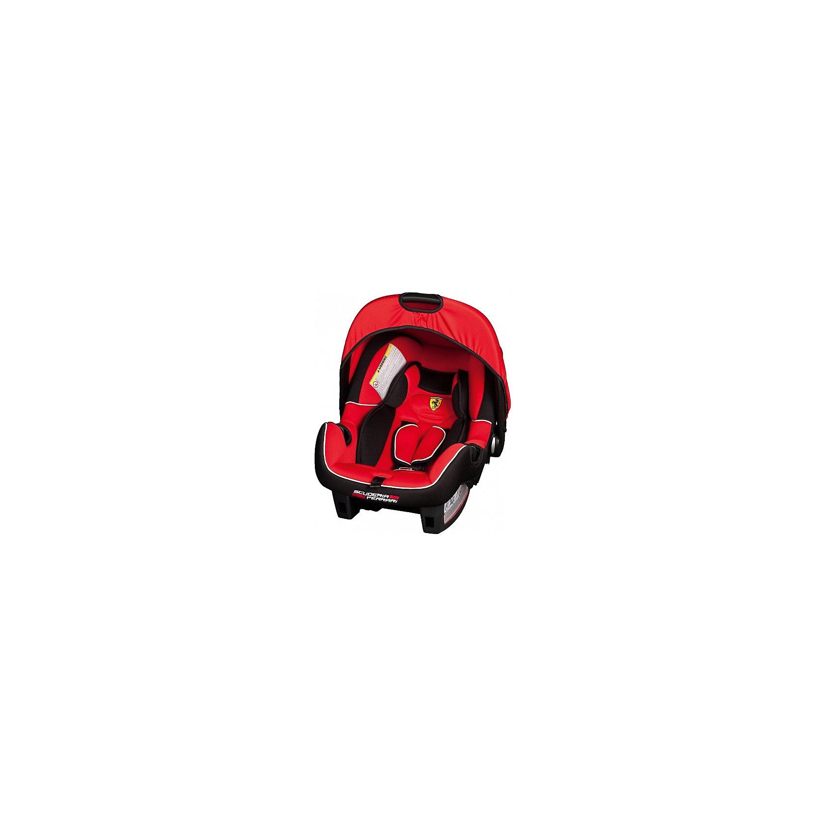 Автокресло Nania Beone SP 0-13 кг, corsa, FerrariГруппа 0+ (До 13 кг)<br>Качественное высокотехнологичное автокресло Beone SP  от Nania позволит перевозить ребенка, не беспокоясь при этом о его безопасности. Оно предназначено для детей весом от 0 до 13 килограмм. Такое кресло обеспечит малышу не только безопасность, но и комфорт. Прочный каркас анатомической формы сделан из полипропилена. Поглощающая силу удара прослойка произведена из полистирола. Есть 5точечные ремни безопасности с тремя уровнями регулировки по высоте и мягкими плечевыми накладками.<br>Автокресло устанавливают против хода движения. Есть улучшенный вкладыш и ручка для переноски ребенка. Такое кресло дает возможность свободно путешествовать, ездить в гости и при этом  быть рядом с малышом. Конструкция - очень удобная и прочная. Изделие произведено из качественных и безопасных для малышей материалов, оно соответствуют всем современным требованиям безопасности. Дополнено съемным чехлом, который можно стирать. Соответствует Европейскому Стандарту Безопасности ECE R44/03.<br> <br>Дополнительная информация:<br><br>цвет: красный, с логотипом Феррари;<br>материал: текстиль, пластик;<br>вес ребенка:  0 до 13 кг;<br>вес кресла: 7,69 кг;<br>ручка для переноски;<br>регулируемые 5точечные ремни безопасности;<br>съемный чехол.<br><br>Автокресло Beone SP 0-13 кг., от компании Nania можно купить в нашем магазине.<br><br>Ширина мм: 390<br>Глубина мм: 720<br>Высота мм: 400<br>Вес г: 7690<br>Возраст от месяцев: 0<br>Возраст до месяцев: 12<br>Пол: Мужской<br>Возраст: Детский<br>SKU: 4860516