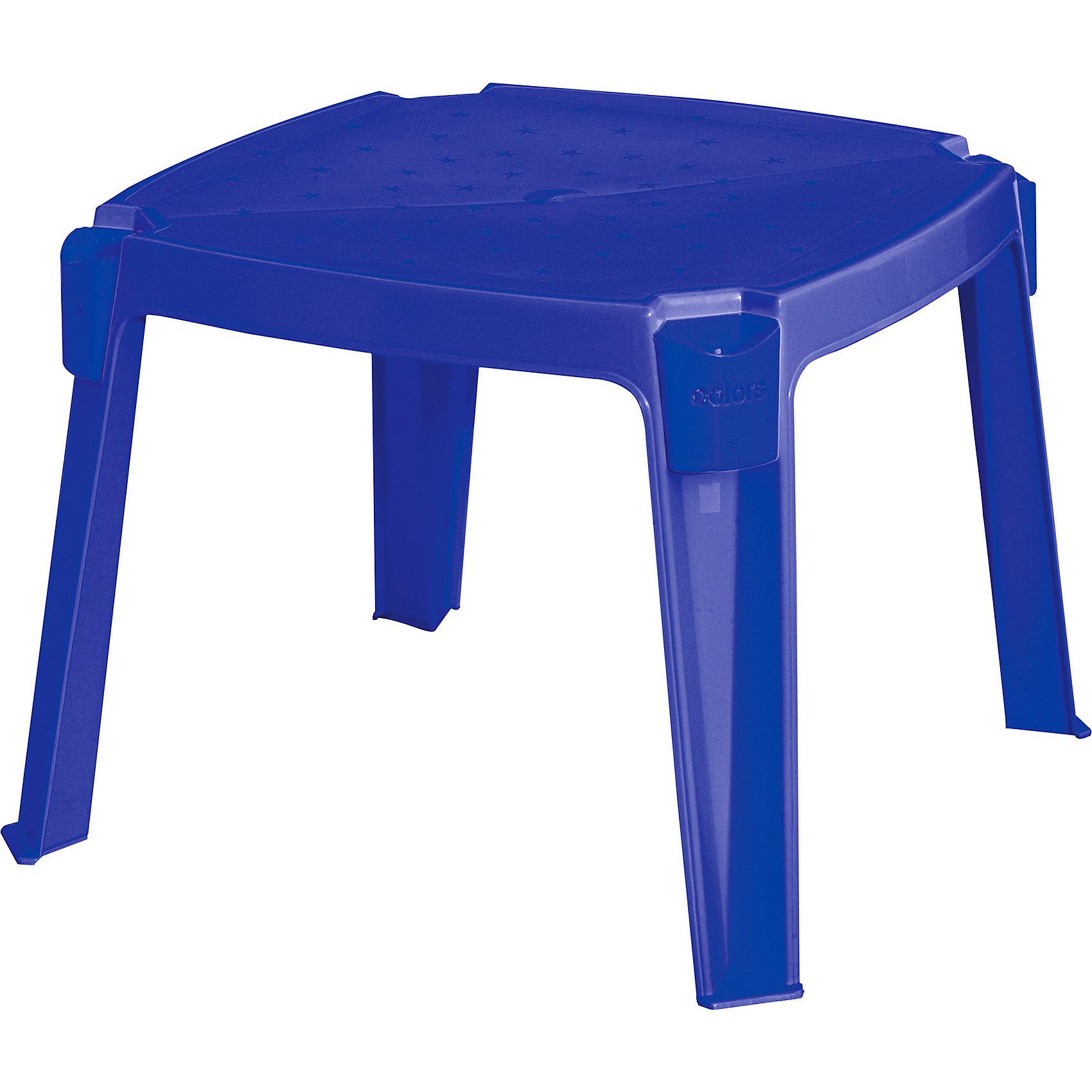 Стол с карманами, синий, MarianplastMarianplast Стол с карманами - яркий и удобный детский столик с карманами для карандашей и фломастеров.<br><br>За столиком свободно смогут расположиться сразу 4 ребенка. <br>Размер: 53X53X42.5см<br><br>За столиком можно перекусить, поиграть в настольные игры или порисовать. Может использоваться как на даче, так и в детской комнате.<br><br>Ширина мм: 530<br>Глубина мм: 530<br>Высота мм: 425<br>Вес г: 1530<br>Возраст от месяцев: 216<br>Возраст до месяцев: 144<br>Пол: Унисекс<br>Возраст: Детский<br>SKU: 4860650