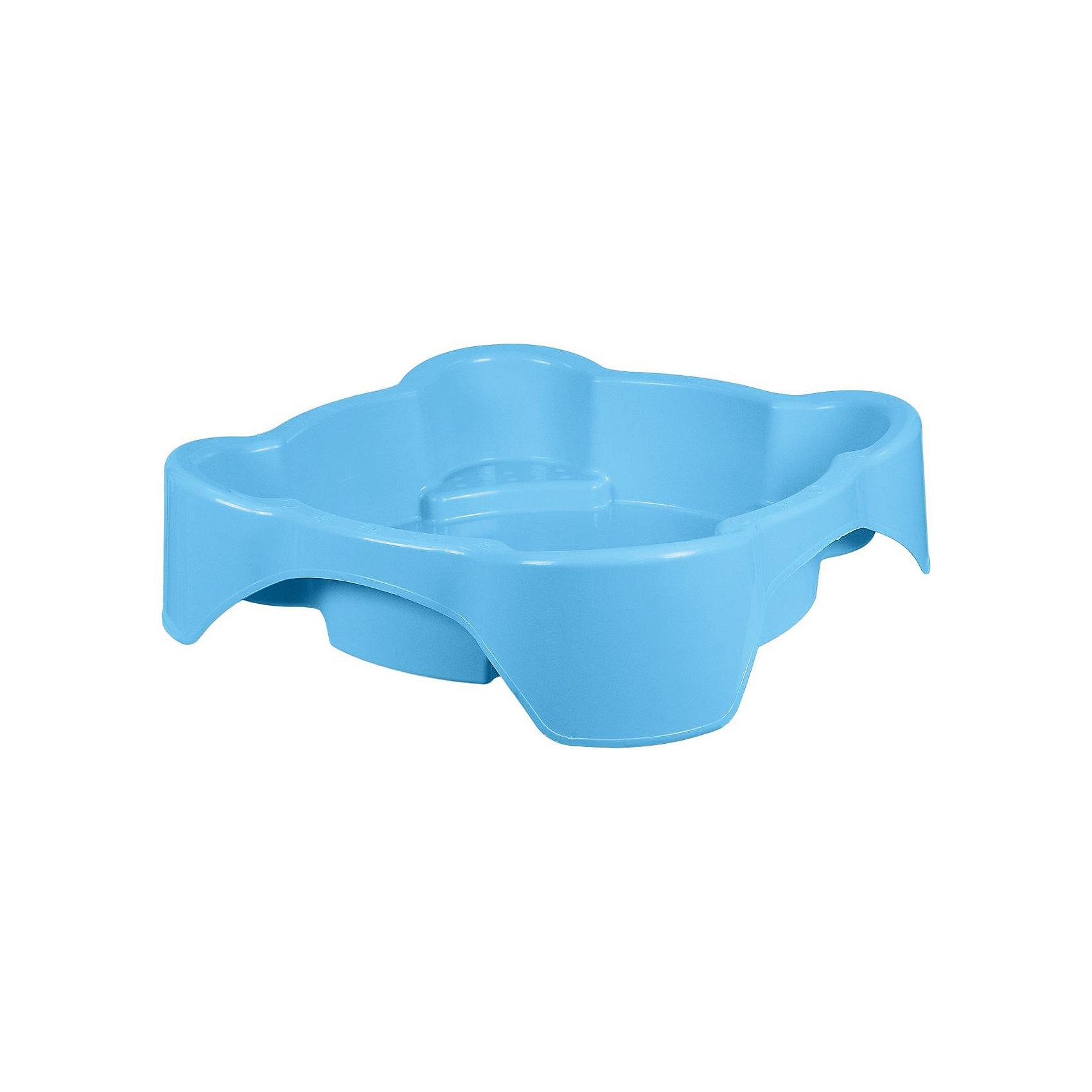 Песочница квадратная, голубая, MarianplastИграем в песочнице<br>Квадратная песочница Marianpalast - это яркая и красочная песочница, незаменимая для игр на воздухе.<br><br>У песочницы высокий бортик - 25 см, поэтому её можно использовать как песочницу и как бассейн. Песочница Marianpalast прочная и вместительная, поэтому в ней могут играть одновременно несколько малышей. <br><br>Дополнительная информация:<br><br>Размеры песочницы: 96 х 96 х 25 см.<br>Цвет: голубой.<br>Вес: 4 кг.<br><br>Ширина мм: 960<br>Глубина мм: 960<br>Высота мм: 250<br>Вес г: 3940<br>Возраст от месяцев: 216<br>Возраст до месяцев: 96<br>Пол: Унисекс<br>Возраст: Детский<br>SKU: 4860651