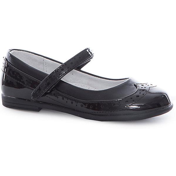 Купить Туфли для девочки Mursu, Китай, черный, 29, 28, 27, 32, 30, 31, Женский