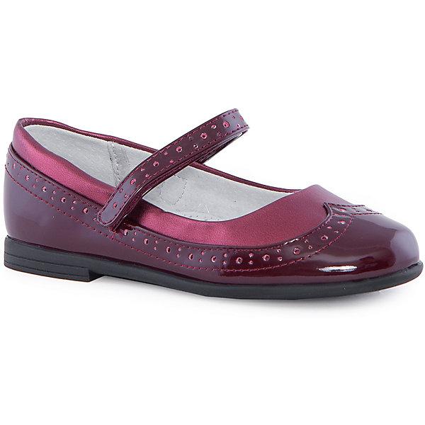 Купить Туфли для девочки Mursu, Китай, бордовый, 31, 29, 30, 28, 32, 27, Женский