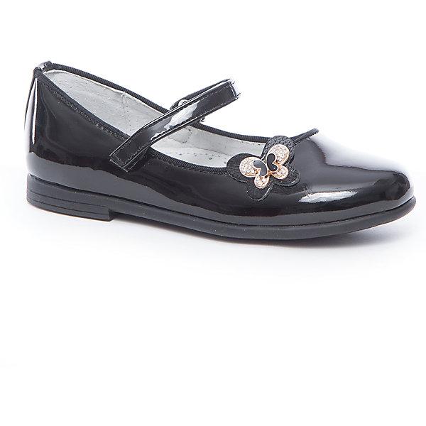 Туфли для девочки Mursu, Китай, черный, 29, 27, 32, 28, 31, 30, Женский  - купить со скидкой