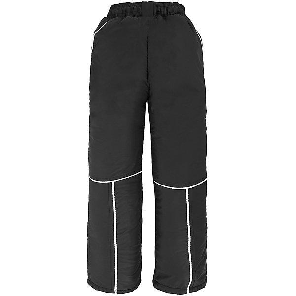 Брюки для мальчика DAUBERВерхняя одежда<br>Характеристики товара:<br><br>• цвет: черный<br>• состав ткани: 100% полиэстер<br>• подкладка: 100% полиэстер <br>• утеплитель: 100% полиэстер (синтепон)<br>• сезон: зима<br>• температурный режим: от -20 до +10 <br>• плотность наполнителя: 200 гр/м?<br>• особенности модели: спортивный стиль<br>• пояс: резинка<br>• страна бренда: Россия<br>• страна изготовитель: Россия<br><br>Брюки для ребенка сделаны из материала, который легко чистится. Детские брюки комфортно сидят, не стесняет движений, легко надеваются. Эти брюки для ребенка сшиты из легкого быстросохнущего материала. Детская одежда от бренда Dauber обеспечит ребенку комфорт в любую погоду. <br><br>Брюки Dauber (Даубер) для мальчика можно купить в нашем интернет-магазине.<br>Ширина мм: 215; Глубина мм: 88; Высота мм: 191; Вес г: 336; Цвет: черный; Возраст от месяцев: 60; Возраст до месяцев: 72; Пол: Мужской; Возраст: Детский; Размер: 116,104,98,110; SKU: 4862266;