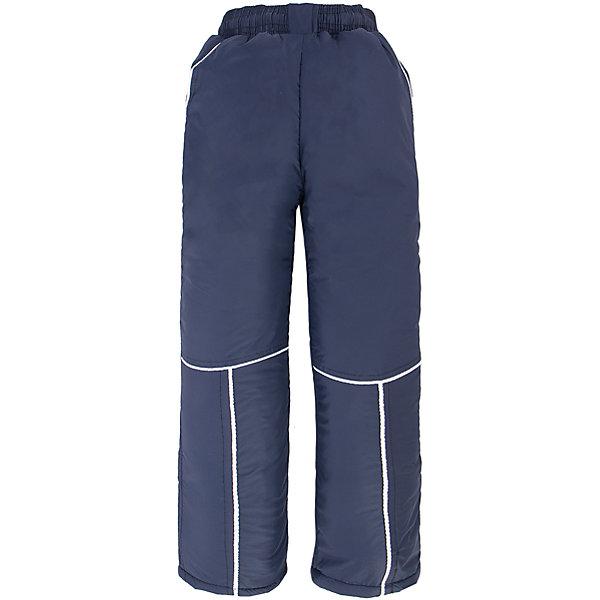 Брюки для мальчика DAUBERВерхняя одежда<br>Характеристики товара:<br><br>• цвет: синий<br>• состав ткани: 100% полиэстер<br>• подкладка: 100% полиэстер <br>• утеплитель: 100% полиэстер (синтепон)<br>• сезон: зима<br>• температурный режим: от -20 до +10 <br>• плотность наполнителя: 200 гр/м?<br>• особенности модели: спортивный стиль<br>• пояс: резинка<br>• страна бренда: Россия<br>• страна изготовитель: Россия<br><br>Бренд Dauber - это стильный продуманный дизайн и неизменно высокое качество исполнения. Брюки для ребенка сделаны из влагоустойчивого утеплителя и прочного грязеотталкивающего верха. Детские брюки обеспечат ребенку комфорт благодаря мягкой резинке в поясе. Детские брюки комфортно сидят, не вызывают неудобств, быстро высыхают. <br><br>Брюки Dauber (Даубер) для мальчика можно купить в нашем интернет-магазине.<br>Ширина мм: 215; Глубина мм: 88; Высота мм: 191; Вес г: 336; Цвет: синий; Возраст от месяцев: 60; Возраст до месяцев: 72; Пол: Мужской; Возраст: Детский; Размер: 116,98,104,110; SKU: 4862271;