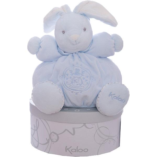 Заяц средний голубой, коллекция Жемчуг, KalooМягкие игрушки животные<br>Зайчонок Kaloo - очаровательная мягкая игрушка голубого цвета, выполнена из мягкого бархатистого меха высокого качества, и украшена вышивкой.<br>Длинные ушки и симпатичная мордочка покорят сердце любого ребенка, и заяц станет его любимой игрушкой на долгие годы. <br><br>Дополнительная информация:<br><br>-Материал: ткань, искусственный мех<br>-Высота игрушки: 25 см<br>-Вес: 0.3 кг<br>-Размер упаковки: диаметр 22 см<br><br>Среднего голубого зайца, коллекции Жемчуг, Kaloo можно купить в нашем интернет-магазине.<br>Ширина мм: 285; Глубина мм: 50; Высота мм: 285; Вес г: 400; Возраст от месяцев: 0; Возраст до месяцев: 1188; Пол: Унисекс; Возраст: Детский; SKU: 4862335;