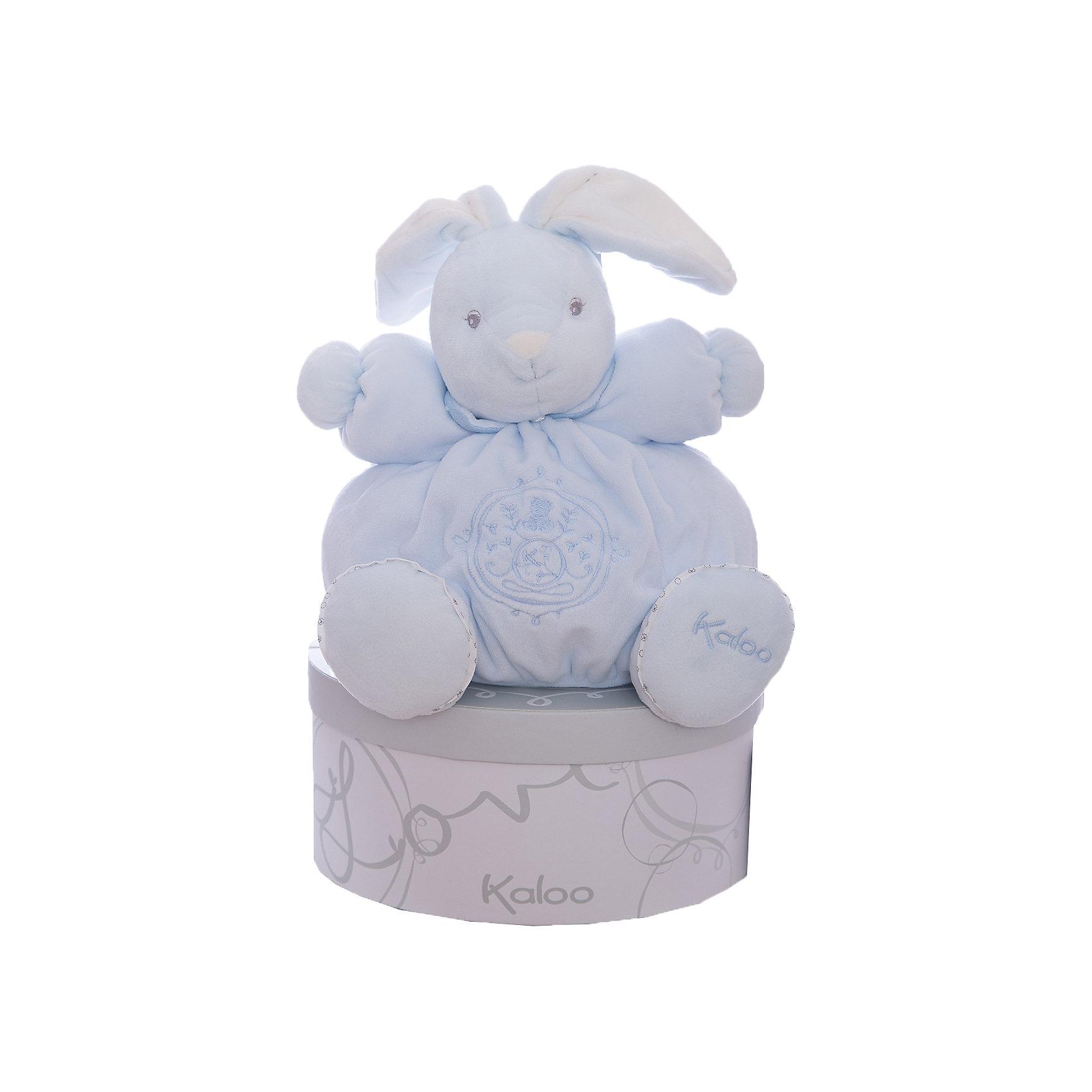 Заяц средний голубой, коллекция Жемчуг, KalooЗайцы и кролики<br>Зайчонок Kaloo - очаровательная мягкая игрушка голубого цвета, выполнена из мягкого бархатистого меха высокого качества, и украшена вышивкой.<br>Длинные ушки и симпатичная мордочка покорят сердце любого ребенка, и заяц станет его любимой игрушкой на долгие годы. <br><br>Дополнительная информация:<br><br>-Материал: ткань, искусственный мех<br>-Высота игрушки: 25 см<br>-Вес: 0.3 кг<br>-Размер упаковки: диаметр 22 см<br><br>Среднего голубого зайца, коллекции Жемчуг, Kaloo можно купить в нашем интернет-магазине.<br><br>Ширина мм: 285<br>Глубина мм: 50<br>Высота мм: 285<br>Вес г: 400<br>Возраст от месяцев: 0<br>Возраст до месяцев: 1188<br>Пол: Унисекс<br>Возраст: Детский<br>SKU: 4862335
