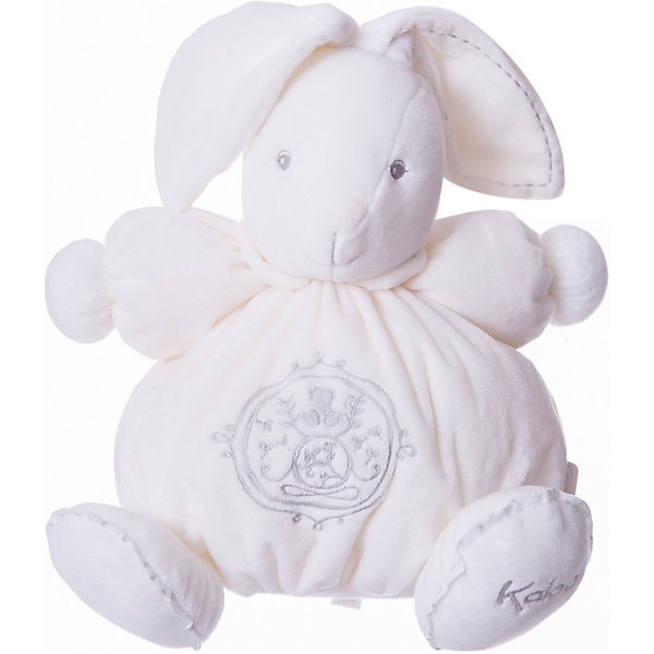 Заяц средний кремовый, коллекция Жемчуг, KalooМягкие игрушки животные<br>Мягкий зайчонок Kaloo – симпатичная игрушка нежно кремового цвета с красивой вышивкой, отлично подойдет в качестве приятного подарка для ребенка.<br>Игрушка выполнена из мягкого материала, который приятен на ощупь и мягок.<br><br>Дополнительная информация:<br><br>-Материал: ткань, искусственный мех<br>-Высота игрушки: 25 см<br>-Вес: 0.3 кг<br>-Размер упаковки: диаметр 22 см<br><br>Среднего кремового зайца, коллекции Жемчуг, Kaloo можно купить в нашем интернет-магазине.<br><br>Ширина мм: 285<br>Глубина мм: 50<br>Высота мм: 285<br>Вес г: 400<br>Возраст от месяцев: 0<br>Возраст до месяцев: 1188<br>Пол: Унисекс<br>Возраст: Детский<br>SKU: 4862336