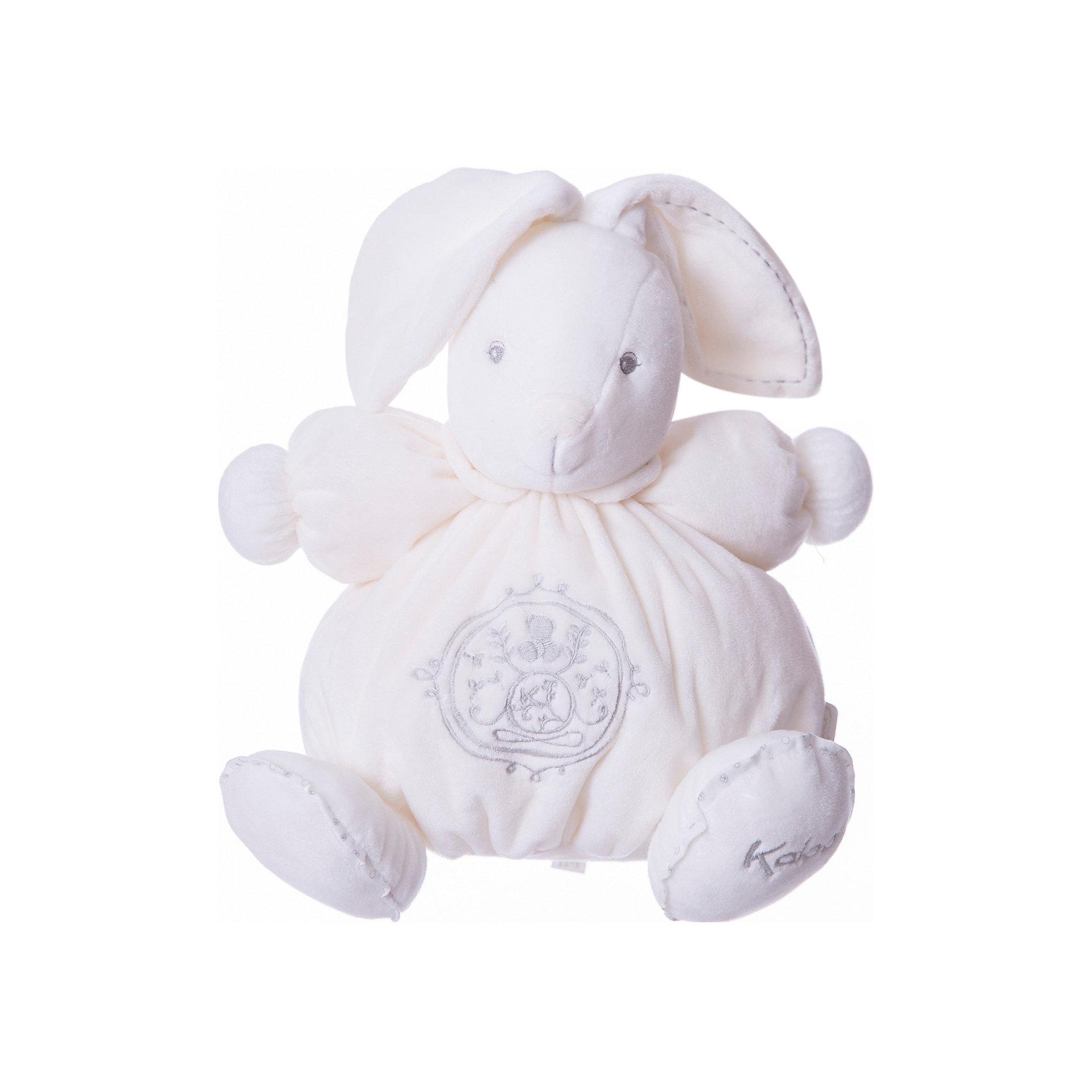 Заяц средний кремовый, коллекция Жемчуг, KalooЗайцы и кролики<br>Мягкий зайчонок Kaloo – симпатичная игрушка нежно кремового цвета с красивой вышивкой, отлично подойдет в качестве приятного подарка для ребенка.<br>Игрушка выполнена из мягкого материала, который приятен на ощупь и мягок.<br><br>Дополнительная информация:<br><br>-Материал: ткань, искусственный мех<br>-Высота игрушки: 25 см<br>-Вес: 0.3 кг<br>-Размер упаковки: диаметр 22 см<br><br>Среднего кремового зайца, коллекции Жемчуг, Kaloo можно купить в нашем интернет-магазине.<br><br>Ширина мм: 285<br>Глубина мм: 50<br>Высота мм: 285<br>Вес г: 400<br>Возраст от месяцев: 0<br>Возраст до месяцев: 1188<br>Пол: Унисекс<br>Возраст: Детский<br>SKU: 4862336