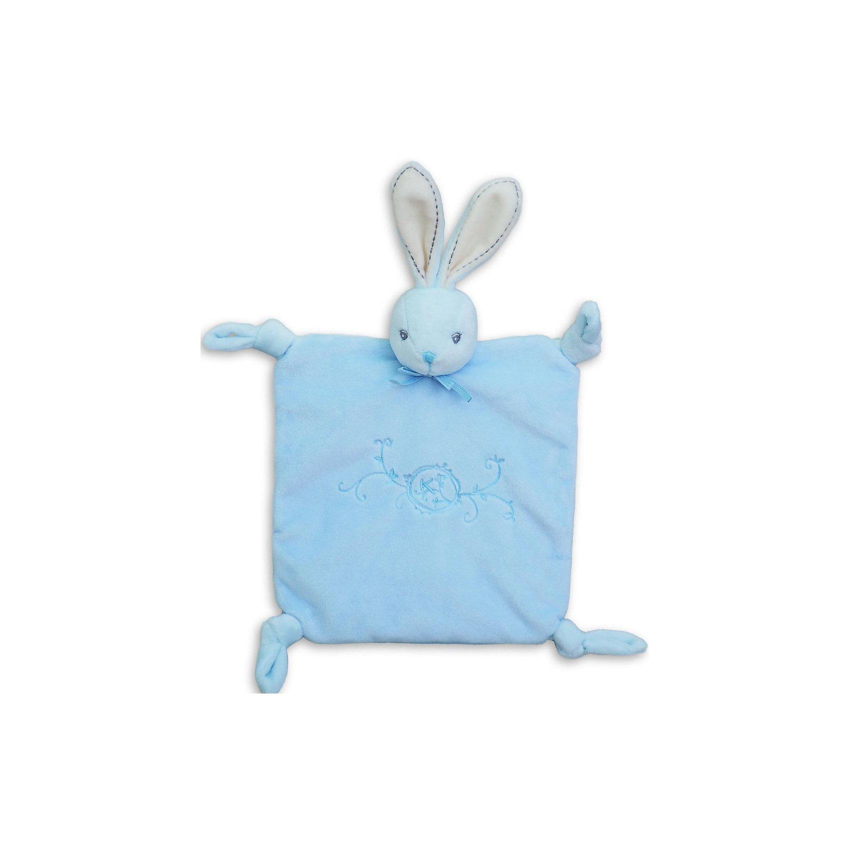 Заяц комфортер с узелками голубой, коллекция Жемчуг, KalooКомфортеры<br>Мягкая игрушка-комфортер зайчонок Kaloo выполнена в уникальном стиле, позволит малышу сладко и комфортно уснуть, и станет защитником от плохих сновидений и детских страхов.<br>Зайчонок сделан из мягкой ткани, она приятна при прикосновении к телу, ребенку будет приятно держать ее в руках, и прижимать к себе.<br><br>Дополнительная информация:<br><br>-Материал: ткань, искусственный мех<br>-Размер игрушки: 20х20 см<br>-Вес: 0.3 кг<br>-Размер упаковки: диаметр 18.5 см<br><br>Зайца комфортер с узелками голубого цвета, коллекции Жемчуг, Kaloo можно купить в нашем интернет-магазине.<br><br>Ширина мм: 208<br>Глубина мм: 18<br>Высота мм: 280<br>Вес г: 400<br>Возраст от месяцев: 0<br>Возраст до месяцев: 1188<br>Пол: Унисекс<br>Возраст: Детский<br>SKU: 4862337