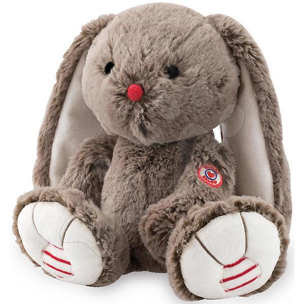 Мягкая игрушка Заяц средний шоколадный, коллекция Руж, KalooМягкие игрушки животные<br>Кролик из коллекции Руж – это очаровательная игрушка с длинными ушками, выполнена в шоколадных тонах, носик красного цвета, а лапки украшены красно-белыми вставками. <br>Мягкие игрушки действуют позитивно на детей, обучая их ласке и доброте, улучшают настроение ребенка.<br><br>Дополнительная информация:<br><br>-Материал: ткань, искусственный мех<br>-Высота игрушки: 31 см<br><br>Среднего шоколадного Зайца, коллекции Руж, Kalooo можно купить в нашем интернет-магазине.<br>Ширина мм: 105; Глубина мм: 120; Высота мм: 290; Вес г: 400; Возраст от месяцев: 0; Возраст до месяцев: 1188; Пол: Унисекс; Возраст: Детский; SKU: 4862341;